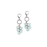 Aquaquartz Cascade Earrings - NHE03 - Harlow Jewelry