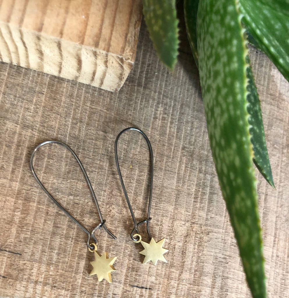 Tiny Starburst Earrings
