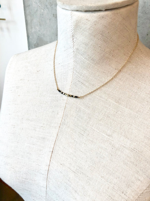 Delani Necklace - Black