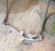 Aya Necklace - Silver