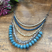 Nora Necklace - India Blue