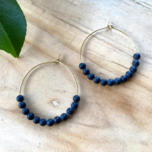 Ginger Earrings - Black