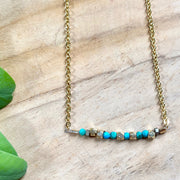 Resist - Morse Code Necklace