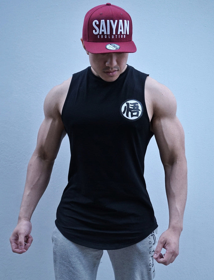 V2.0 Ascension' Muscle Shirt - Rough Cut - Elite Black