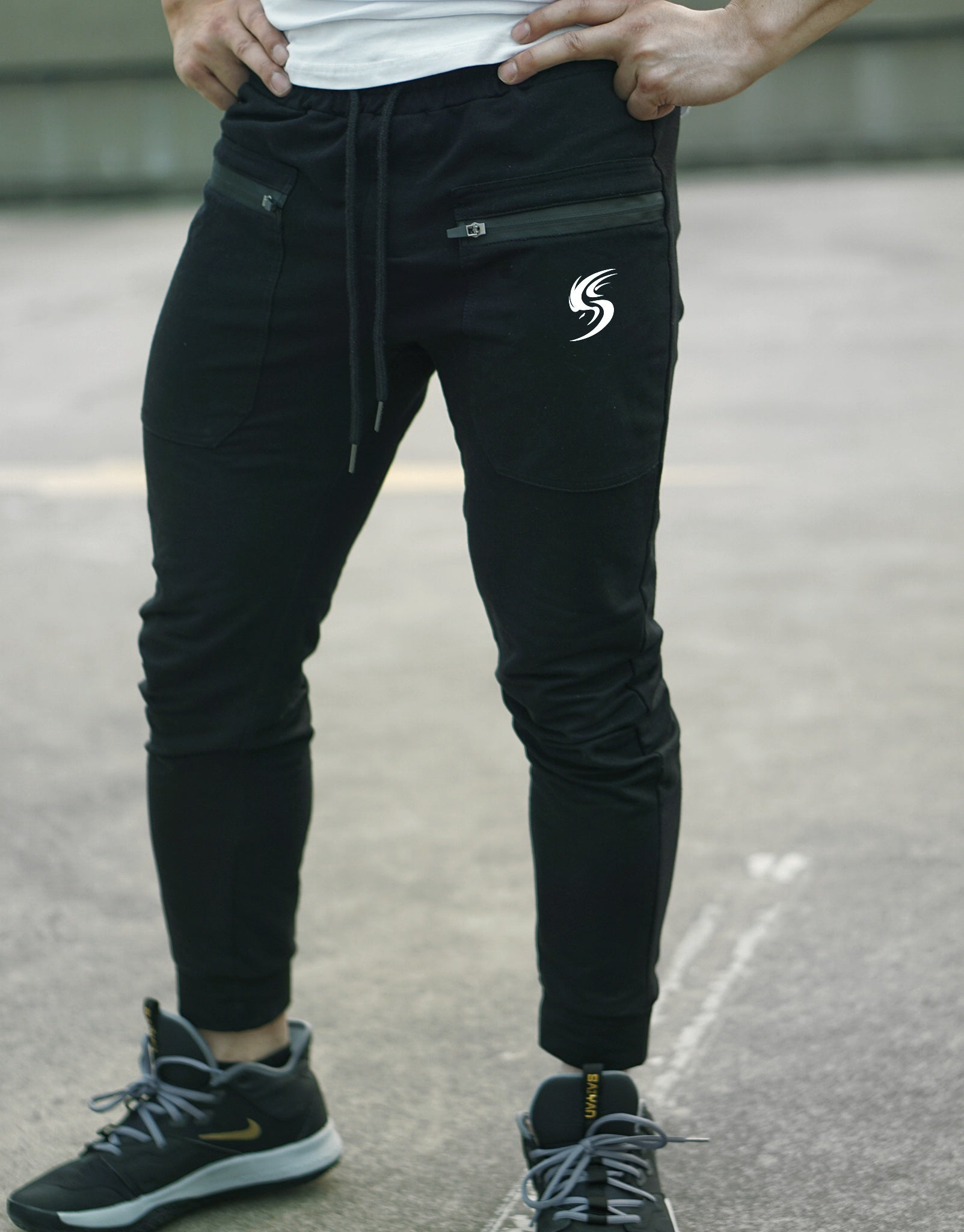 V2 Legendary Fitted Pants - Elite Black