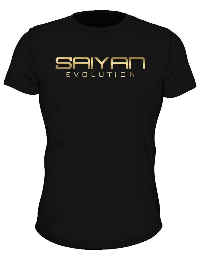 'Saiyan Evolution' Performance T-Shirt - Elite Gold