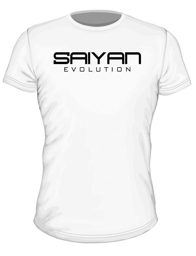 'Saiyan Evolution' Performance T-Shirt - White