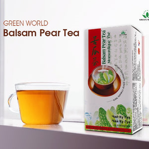 Buy Organic Herbal Balsam Pear Tea Green World Products