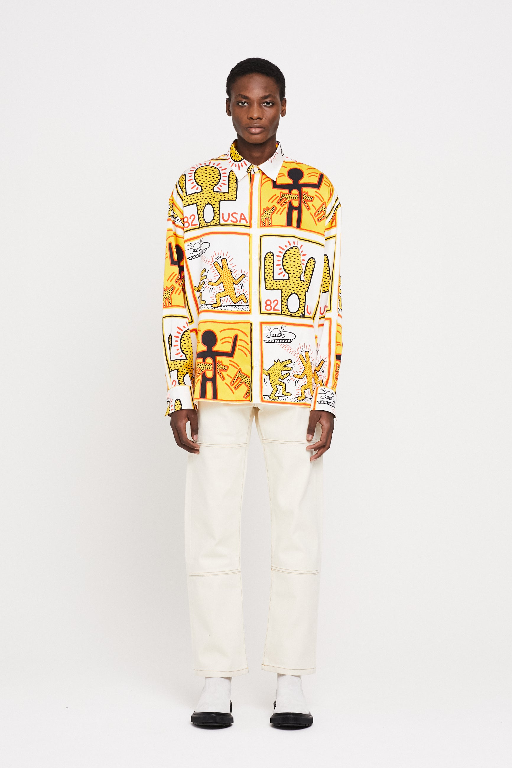 Études Lyrique All-over Keith Haring Shirt 1