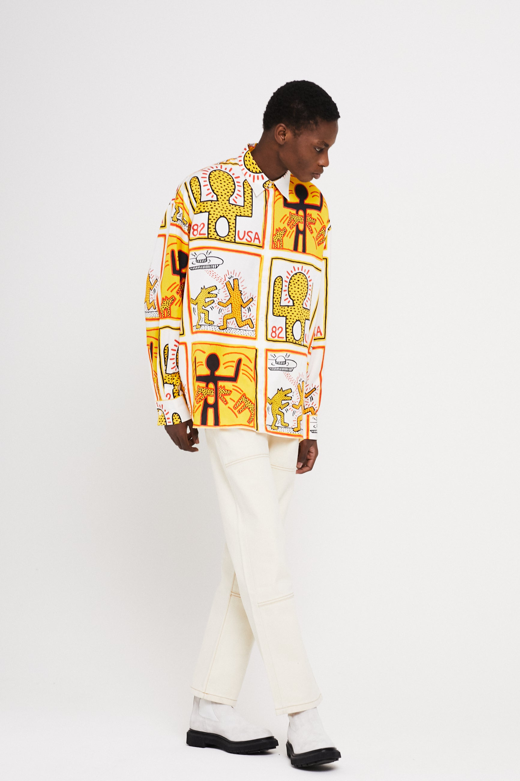 Études Lyrique All-over Keith Haring Shirt 2