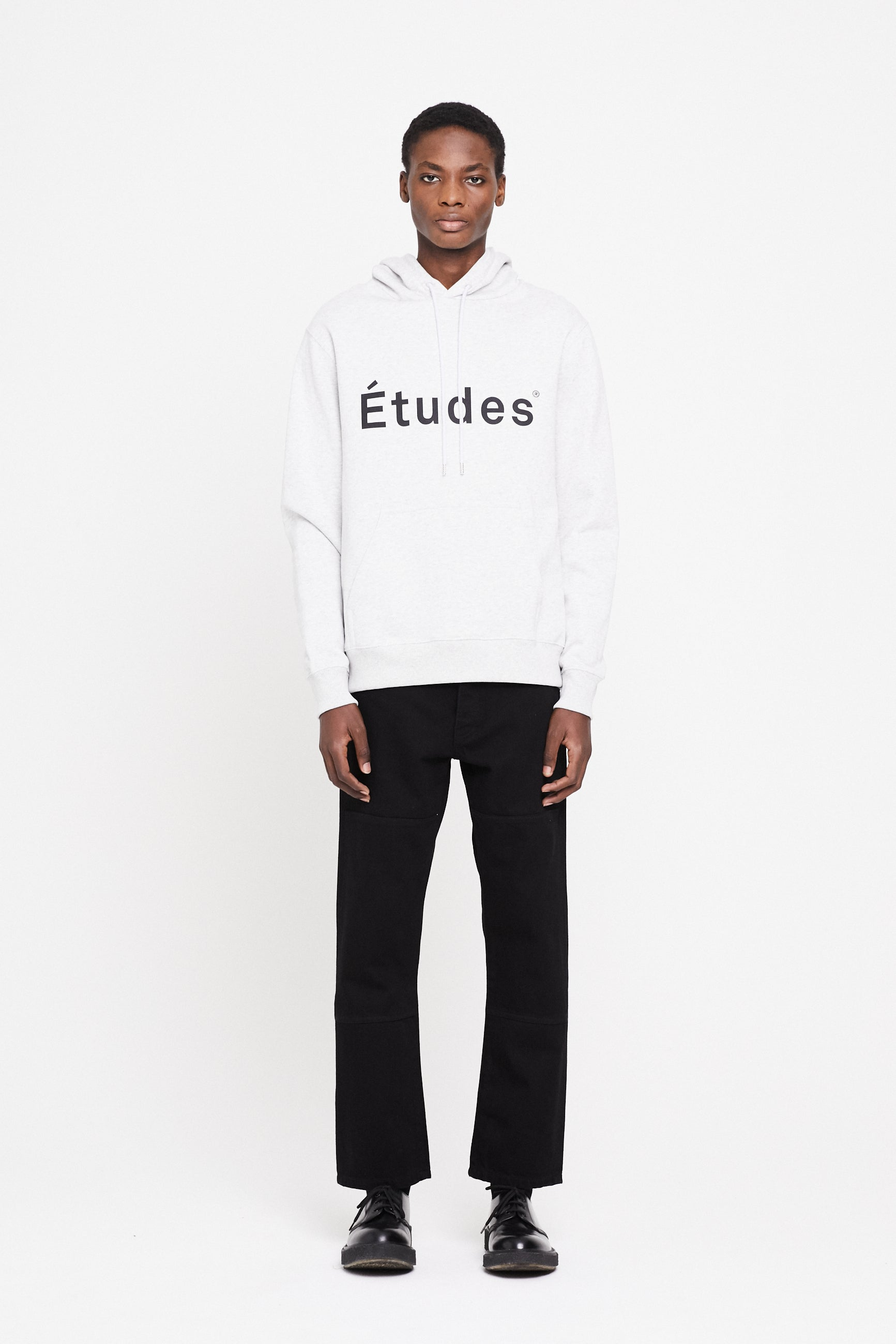 Études Klein Études Heather Grey Sweatshirt 1