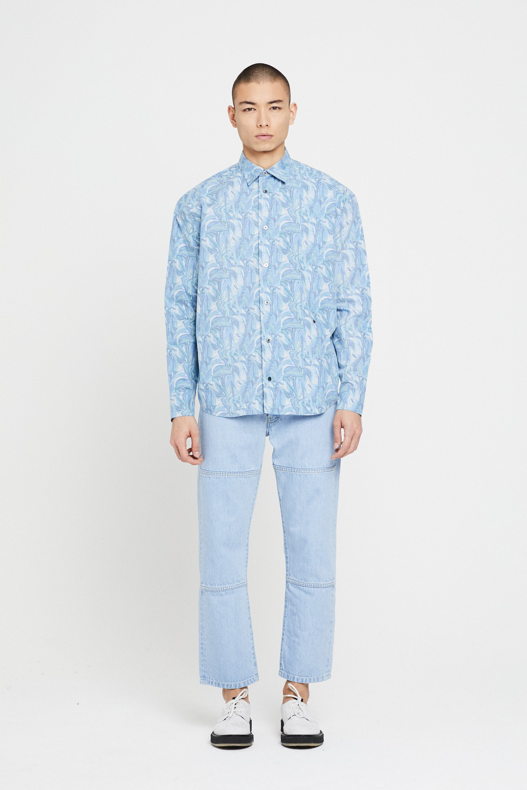 Études Lyrique Liberty Blue Shirt 1
