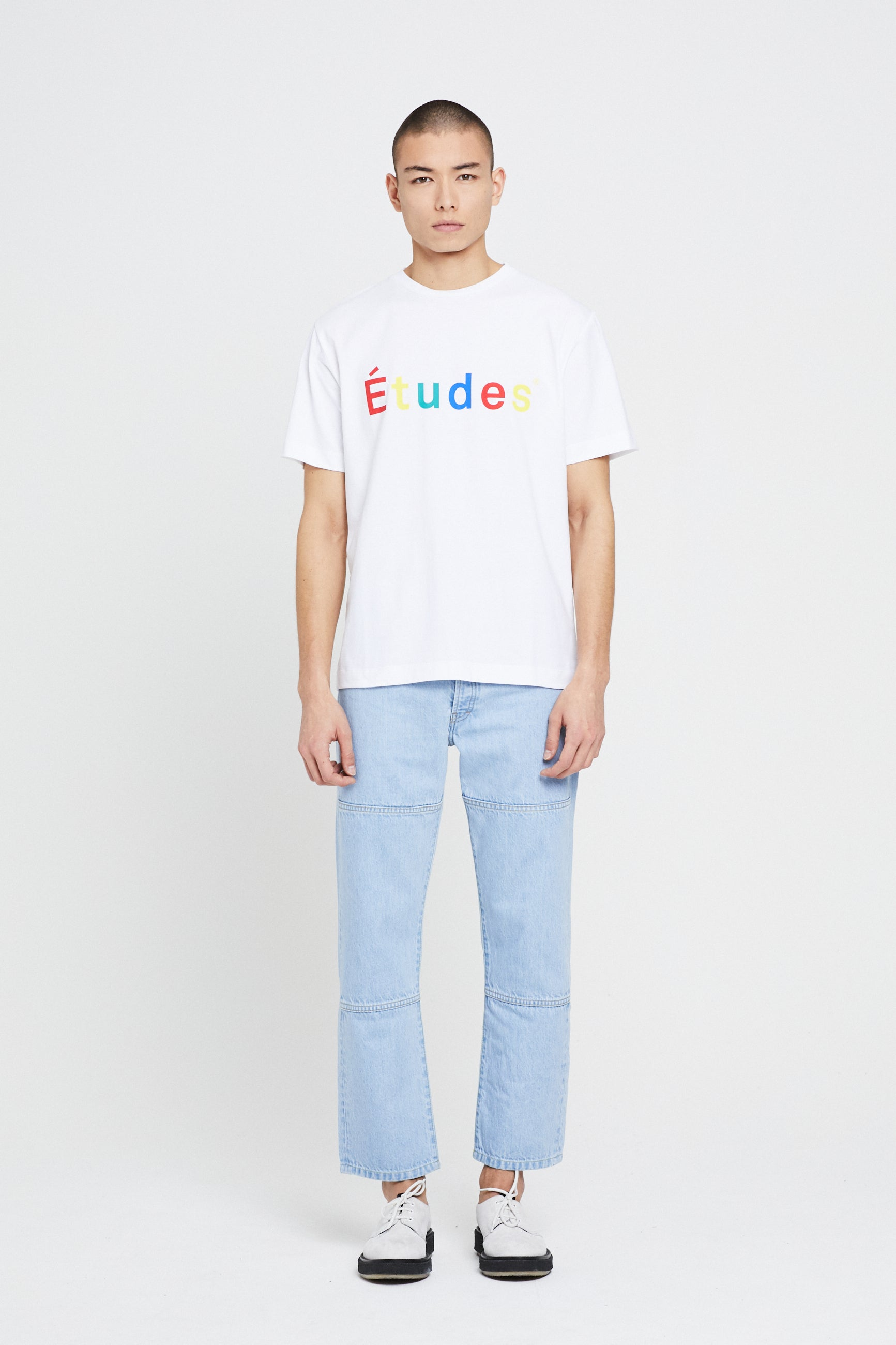 Études Wonder Multico Études White T-Shirt 1