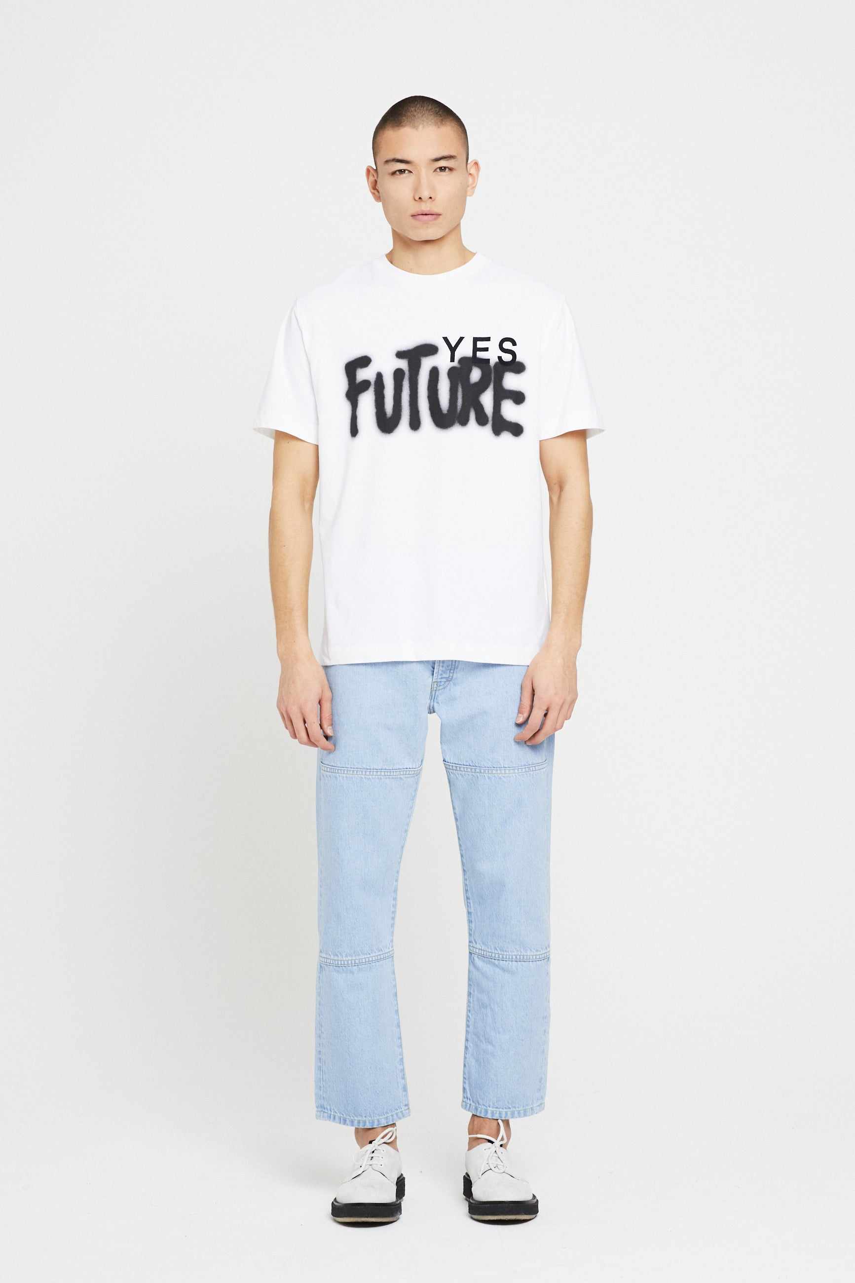 Études Wonder Yes Future White T-Shirt 1