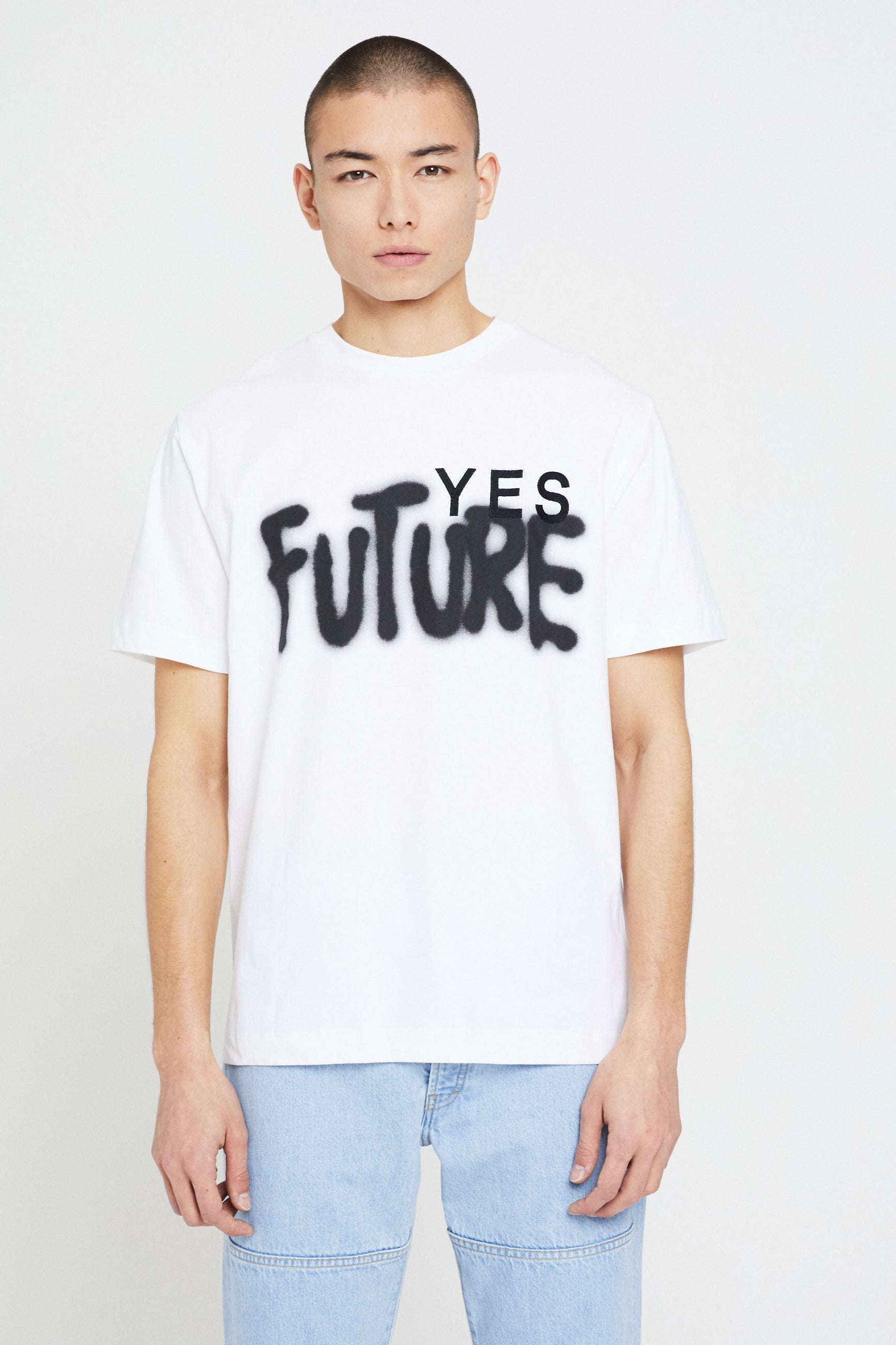 Études Wonder Yes Future White T-Shirt 2