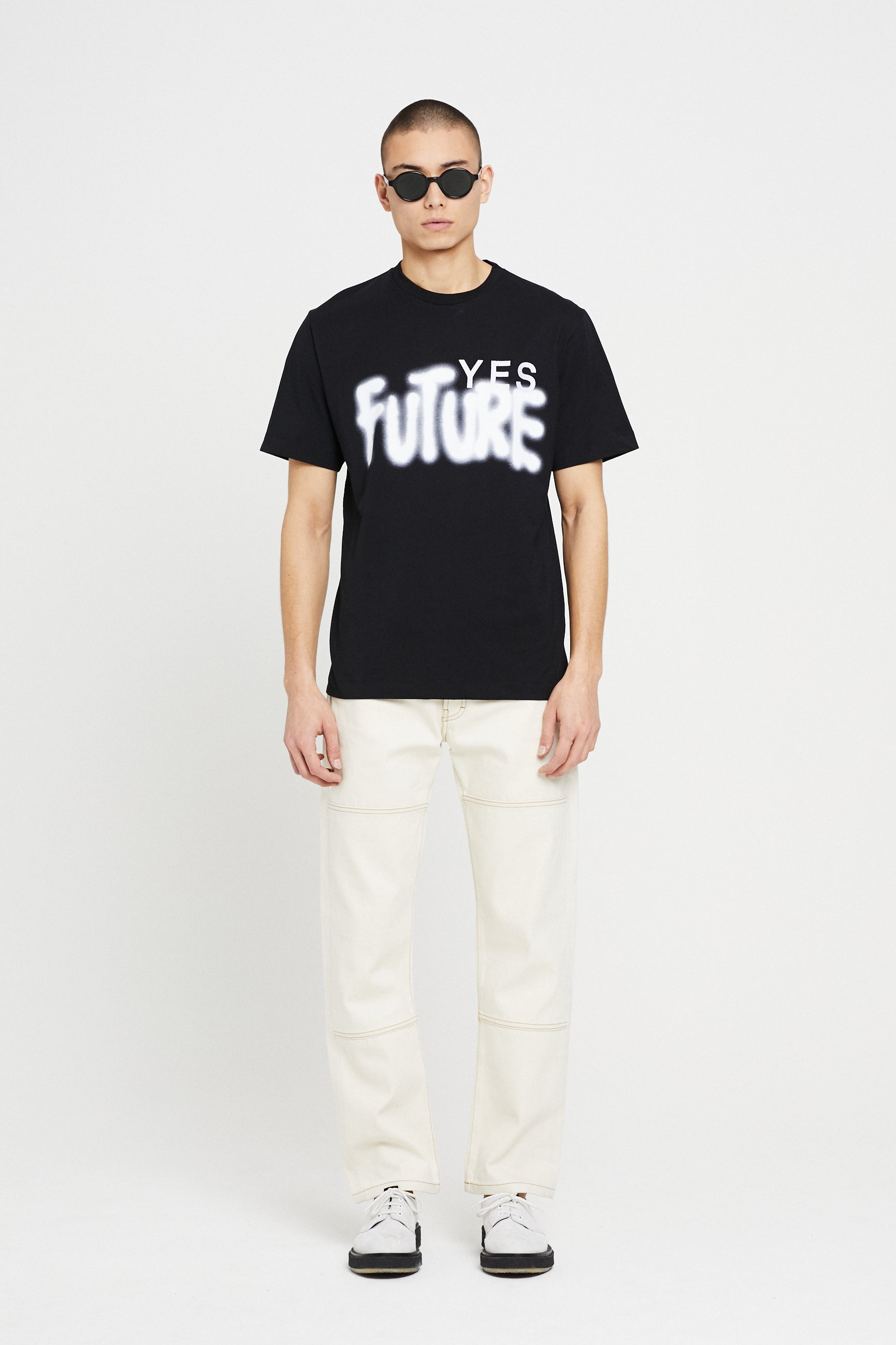 Études Wonder Yes Future Black T-Shirt 1