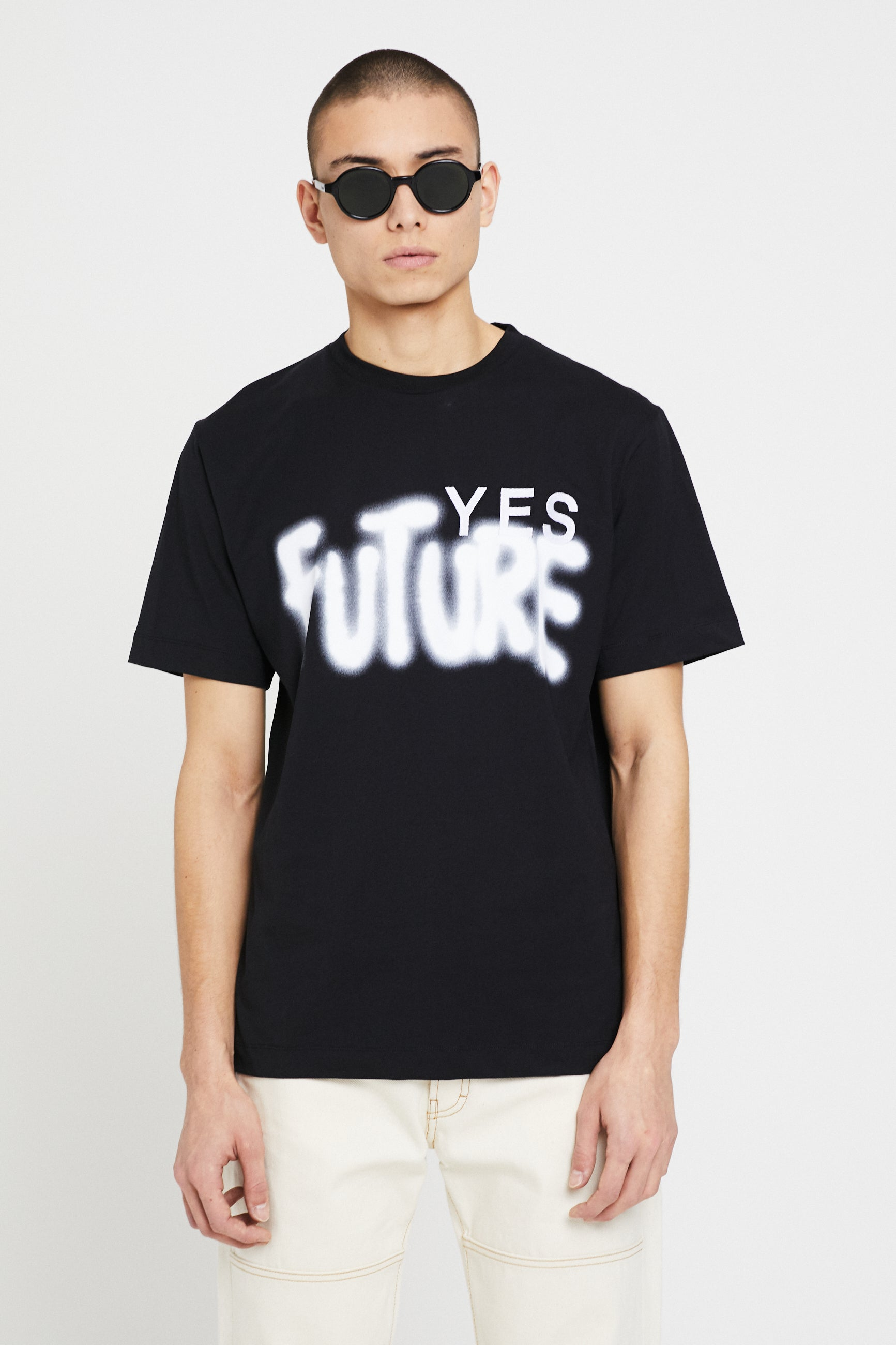 Études Wonder Yes Future Black T-Shirt 2