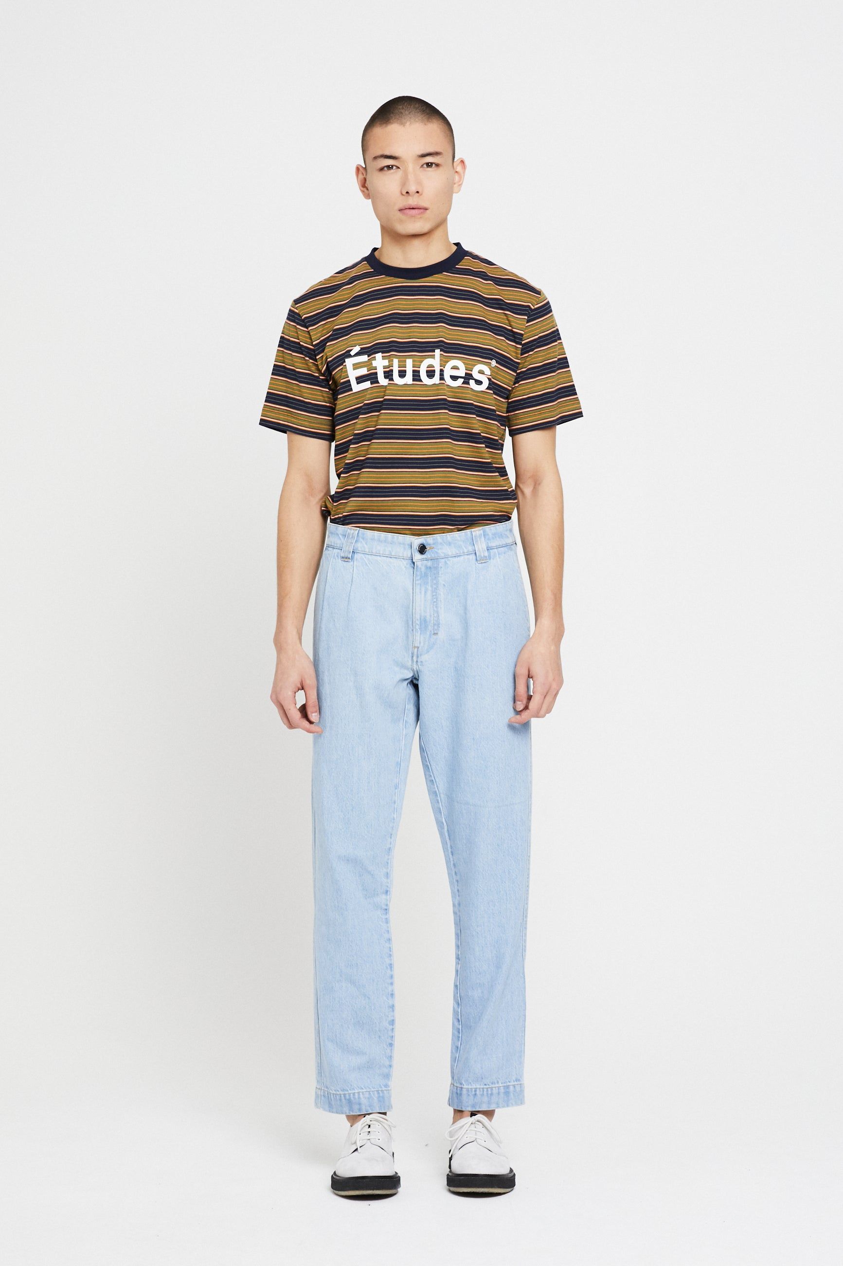 Études Cinema Denim Stone Trousers 1