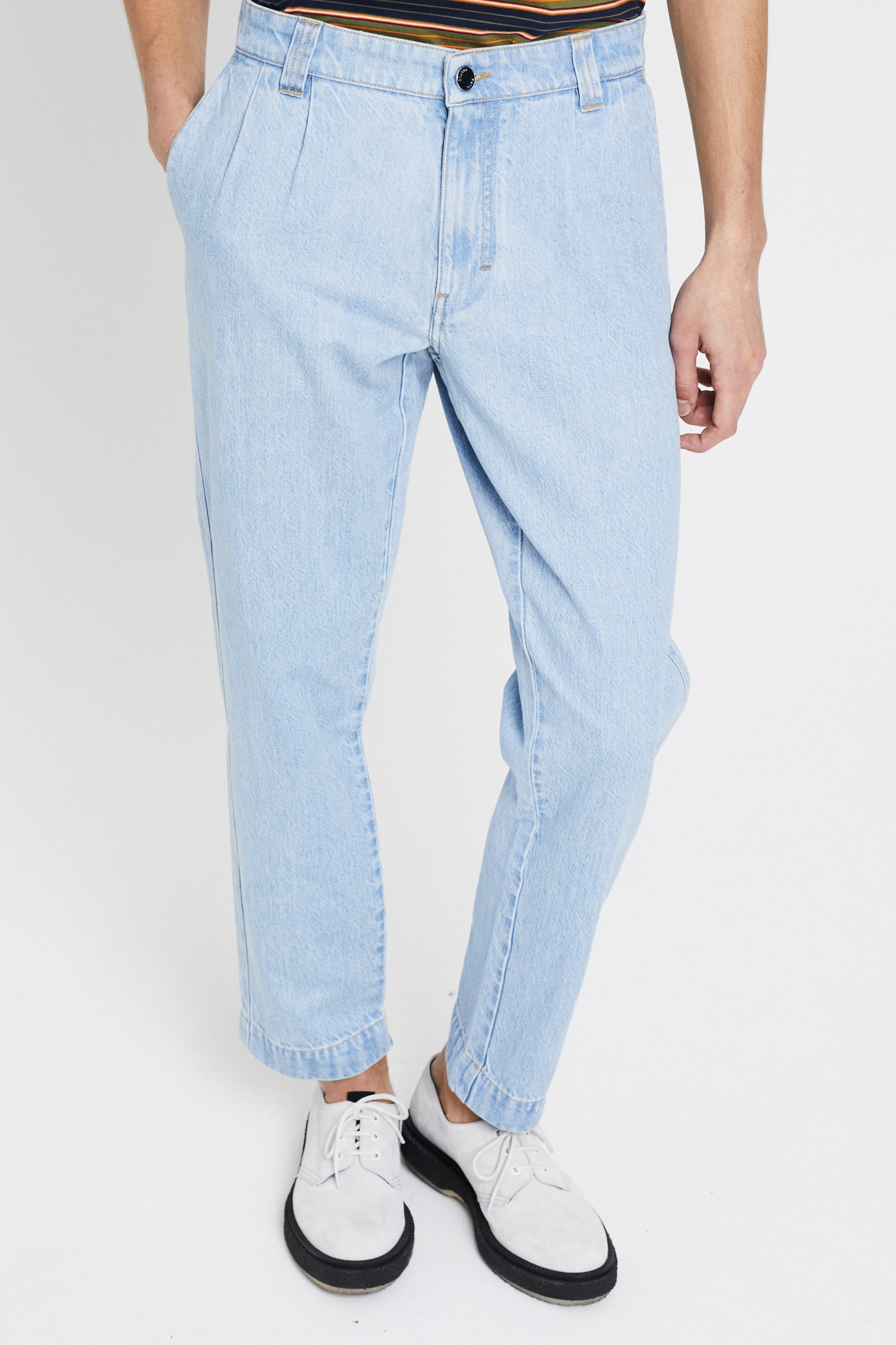 Études Cinema Denim Stone Trousers 2