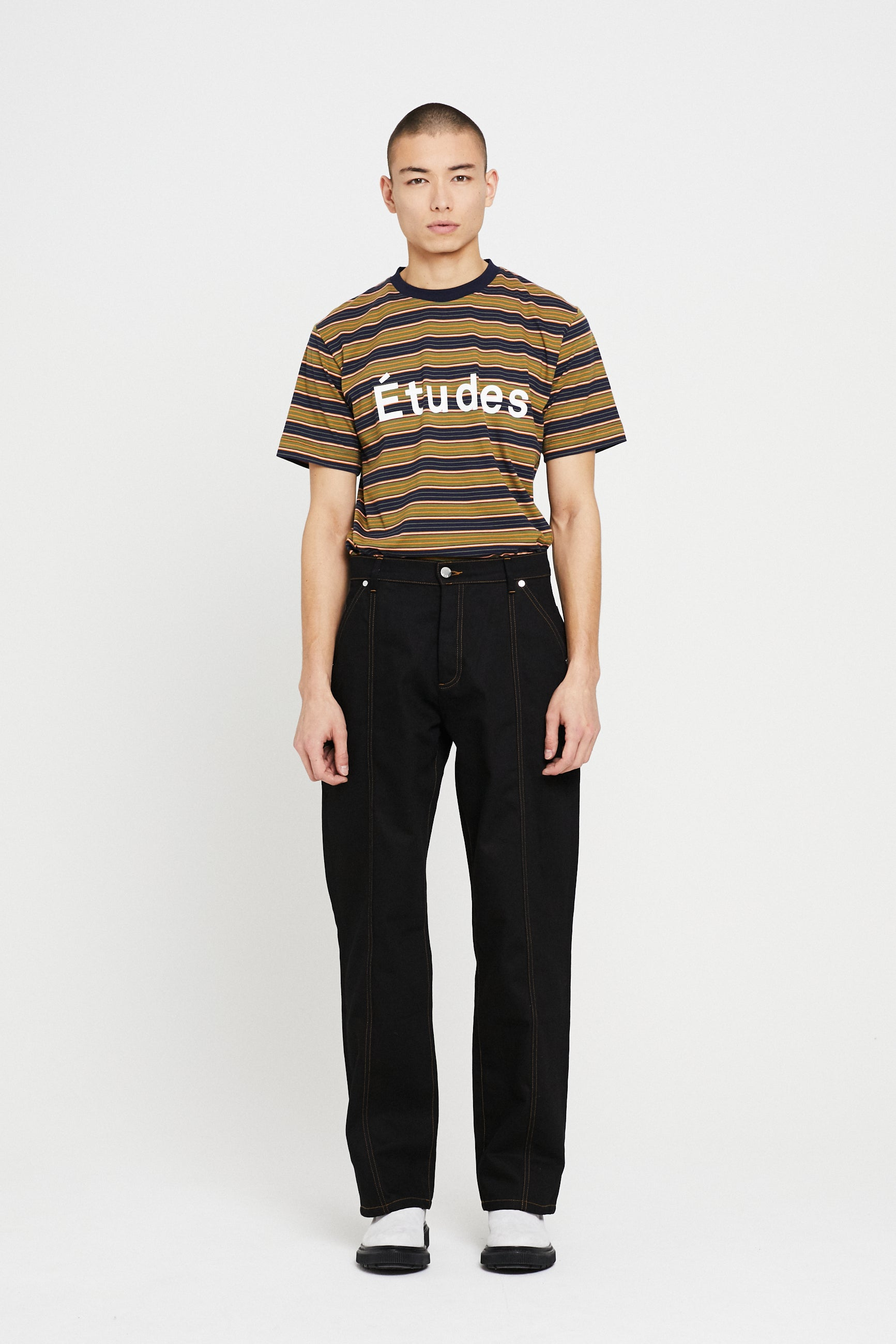 Études Edge Black Trousers 1