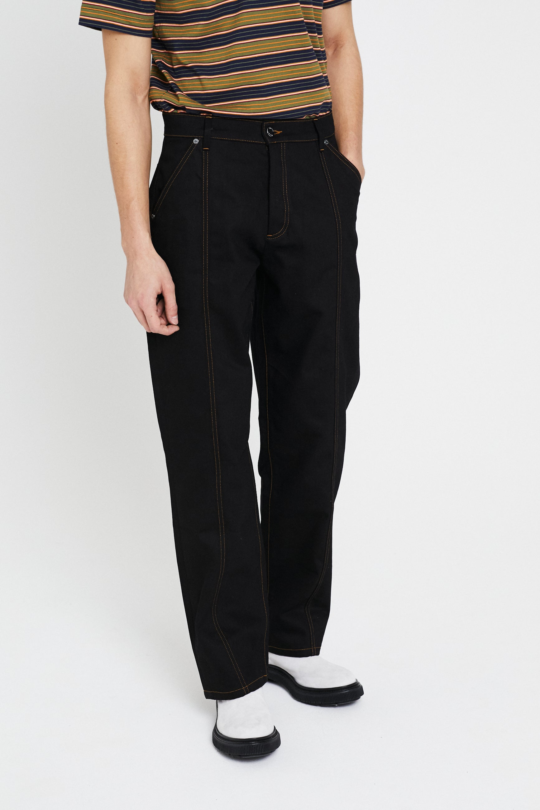 Études Edge Black Trousers 2