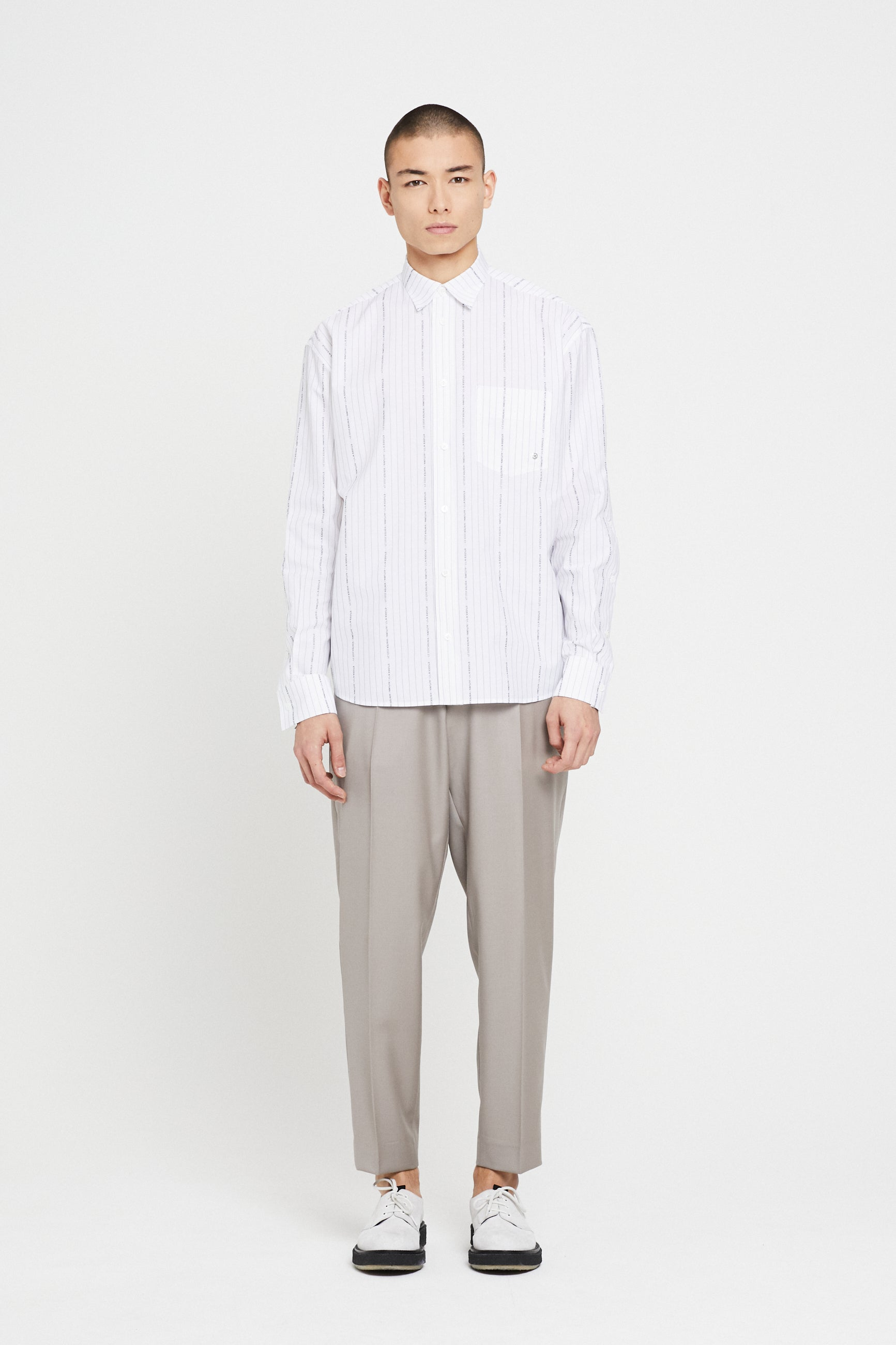 Études Address Striped Jacquard Shirt 1