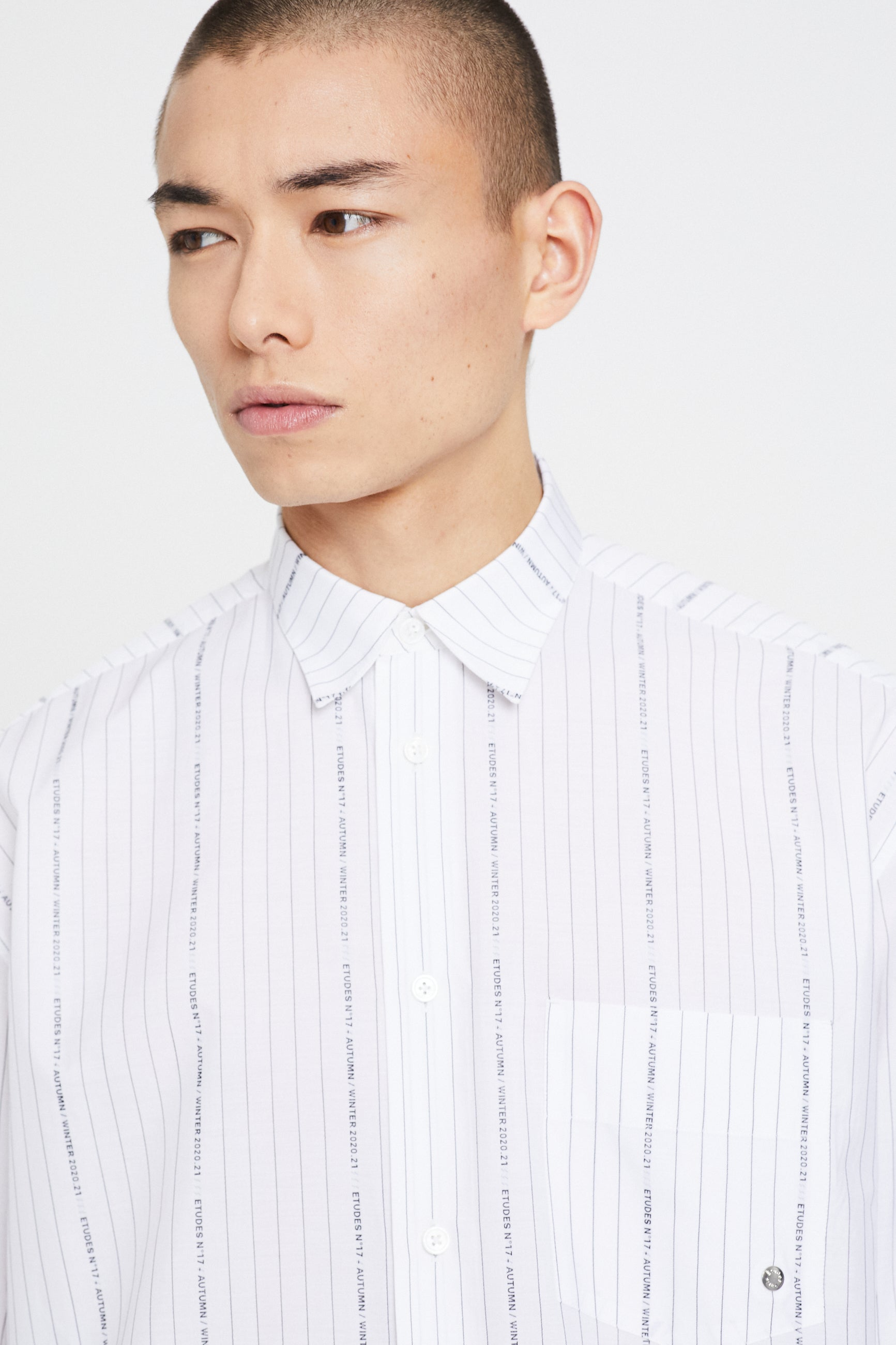 Études Address Striped Jacquard Shirt 2