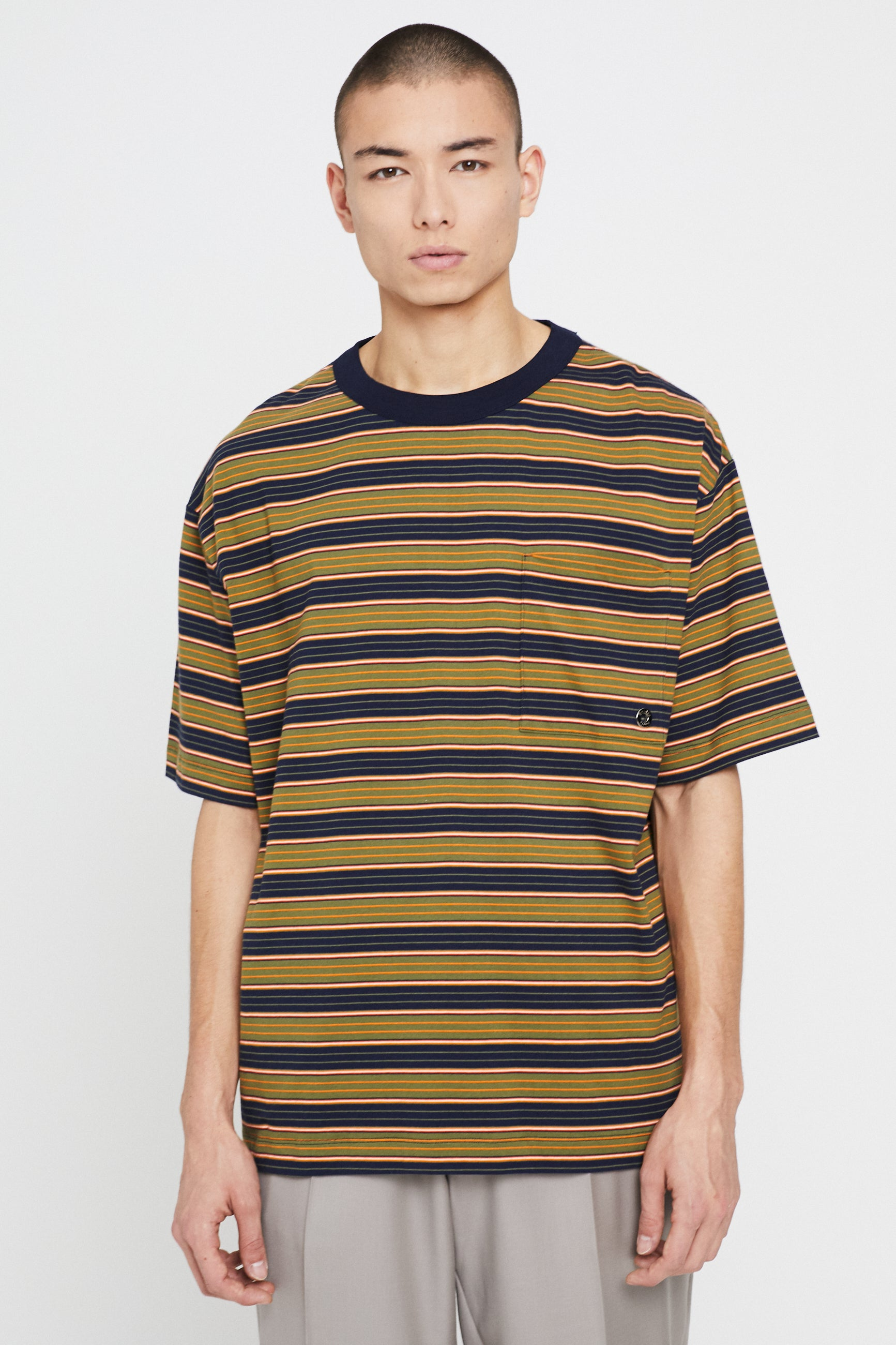 Études Museum Striped T-Shirt 3