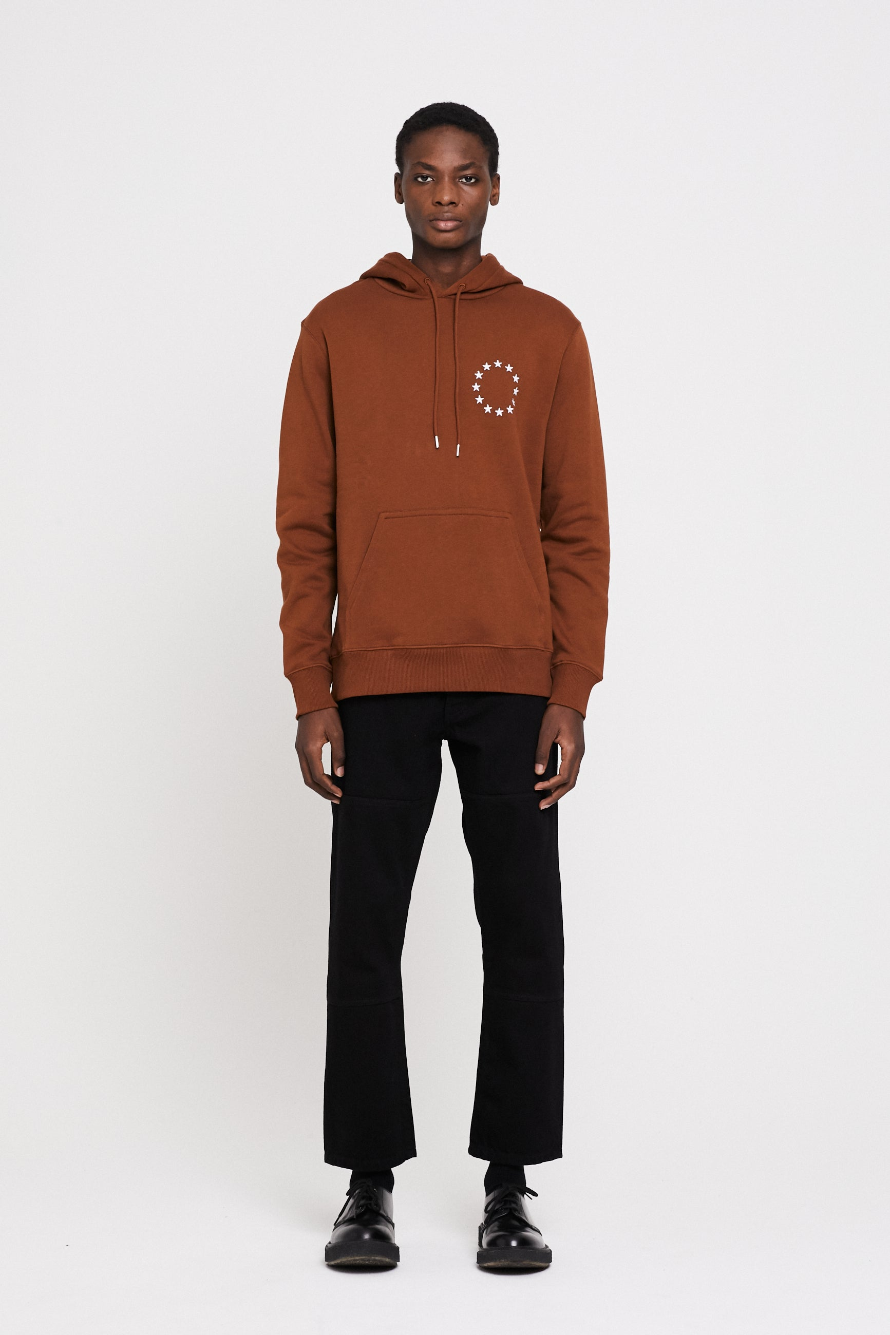 Études Klein Europa Brown White Sweatshirt 1