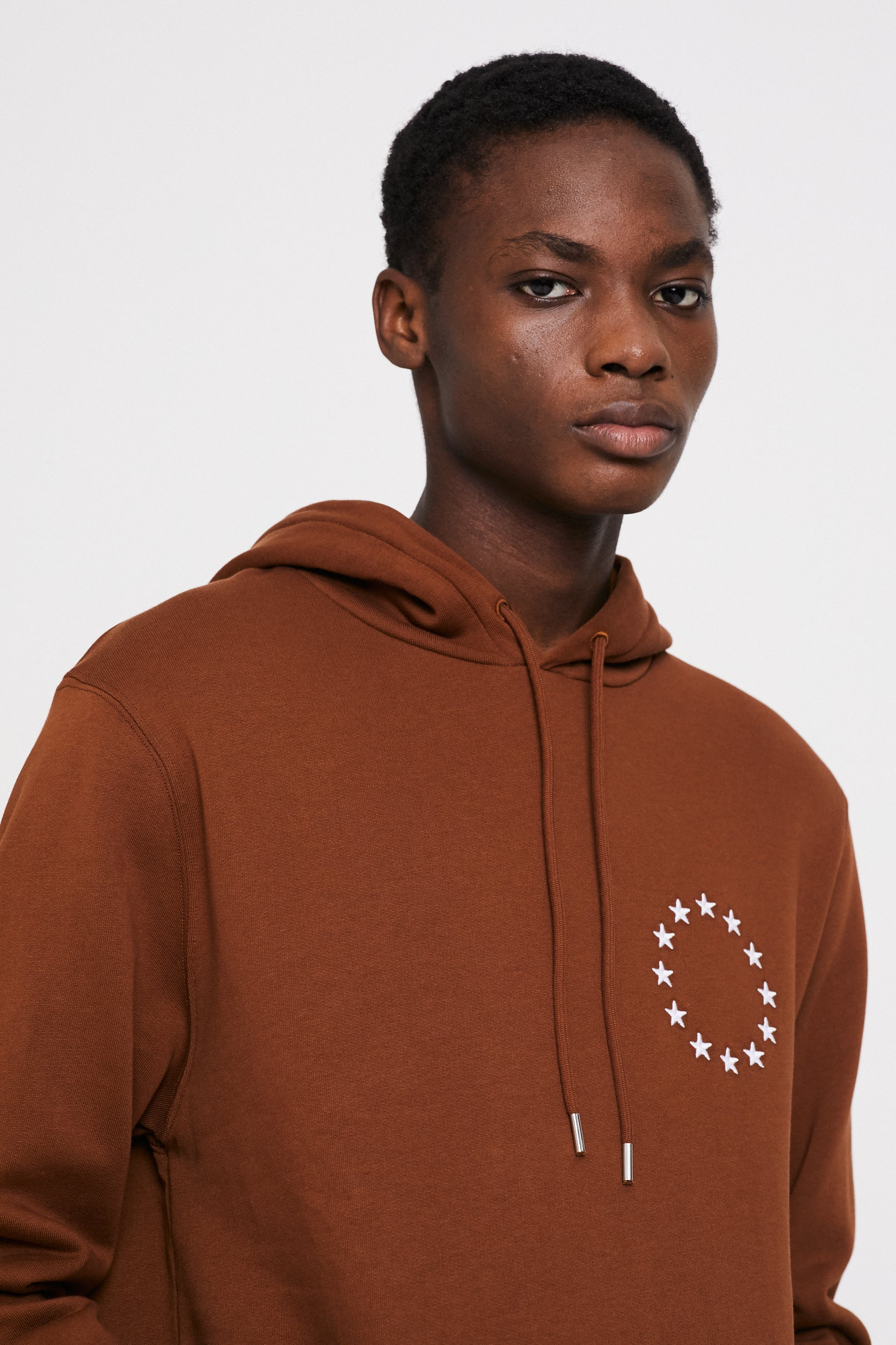 Études Klein Europa Brown White Sweatshirt 2