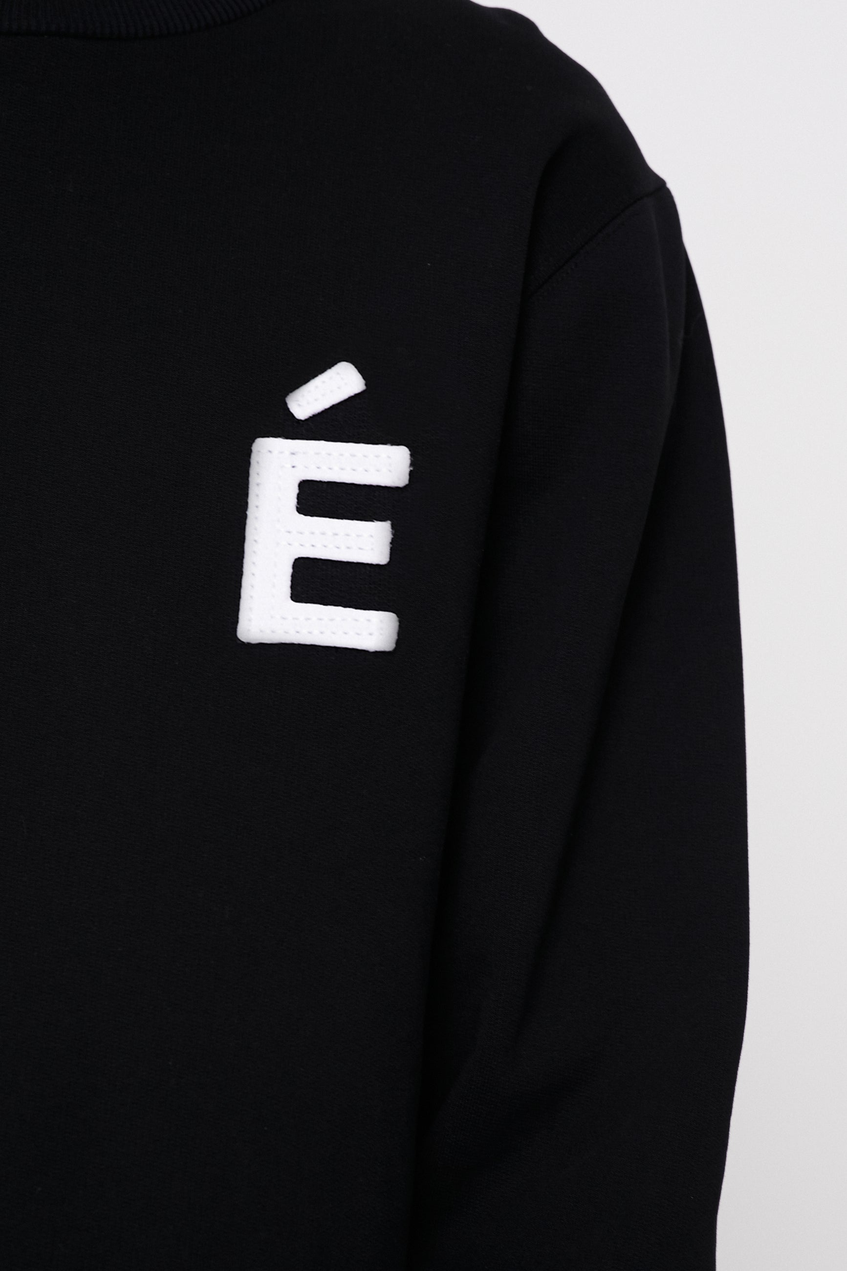 Études Story Patch Black Sweatshirt 2
