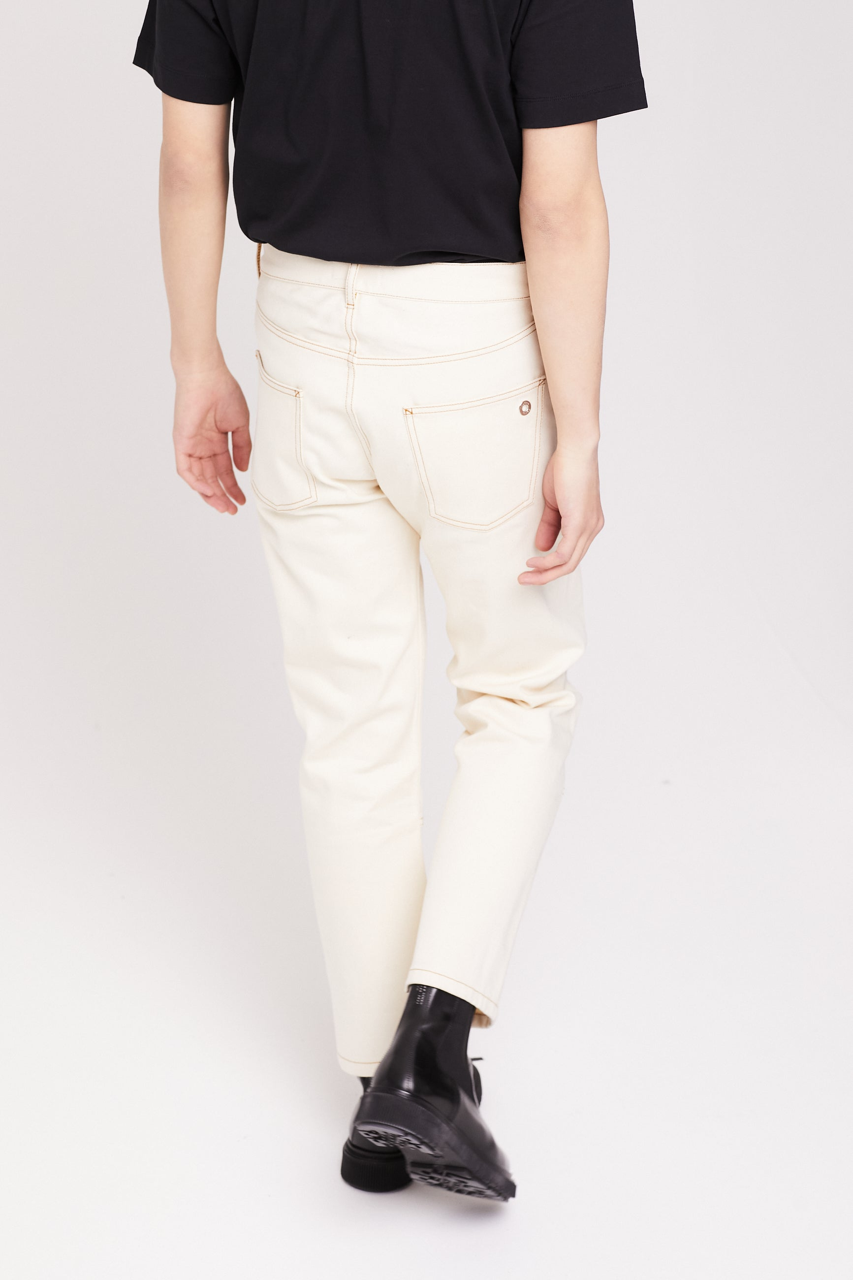 Études Corner Off White Trousers 3