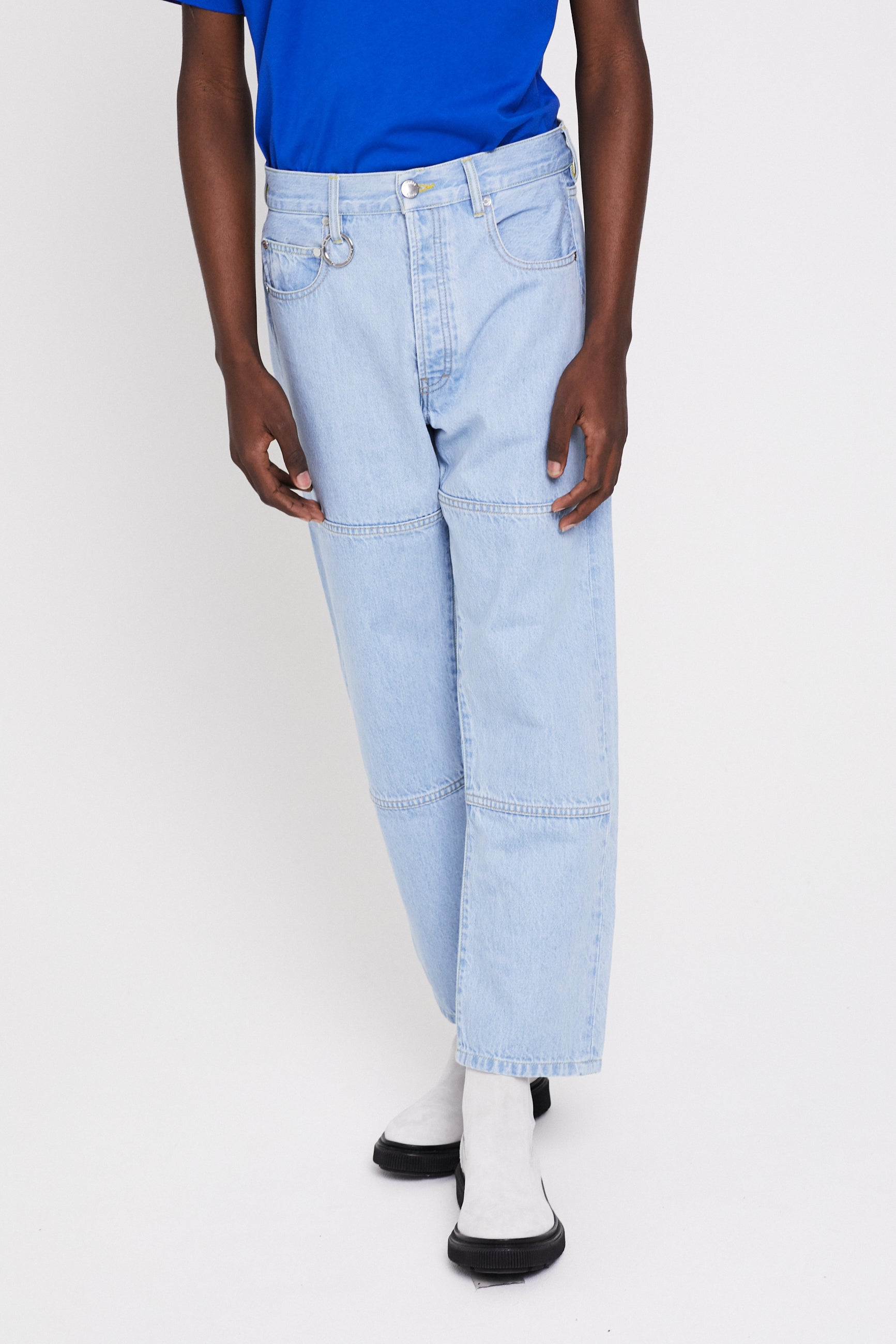 Études Corner Denim Stone Trousers 2