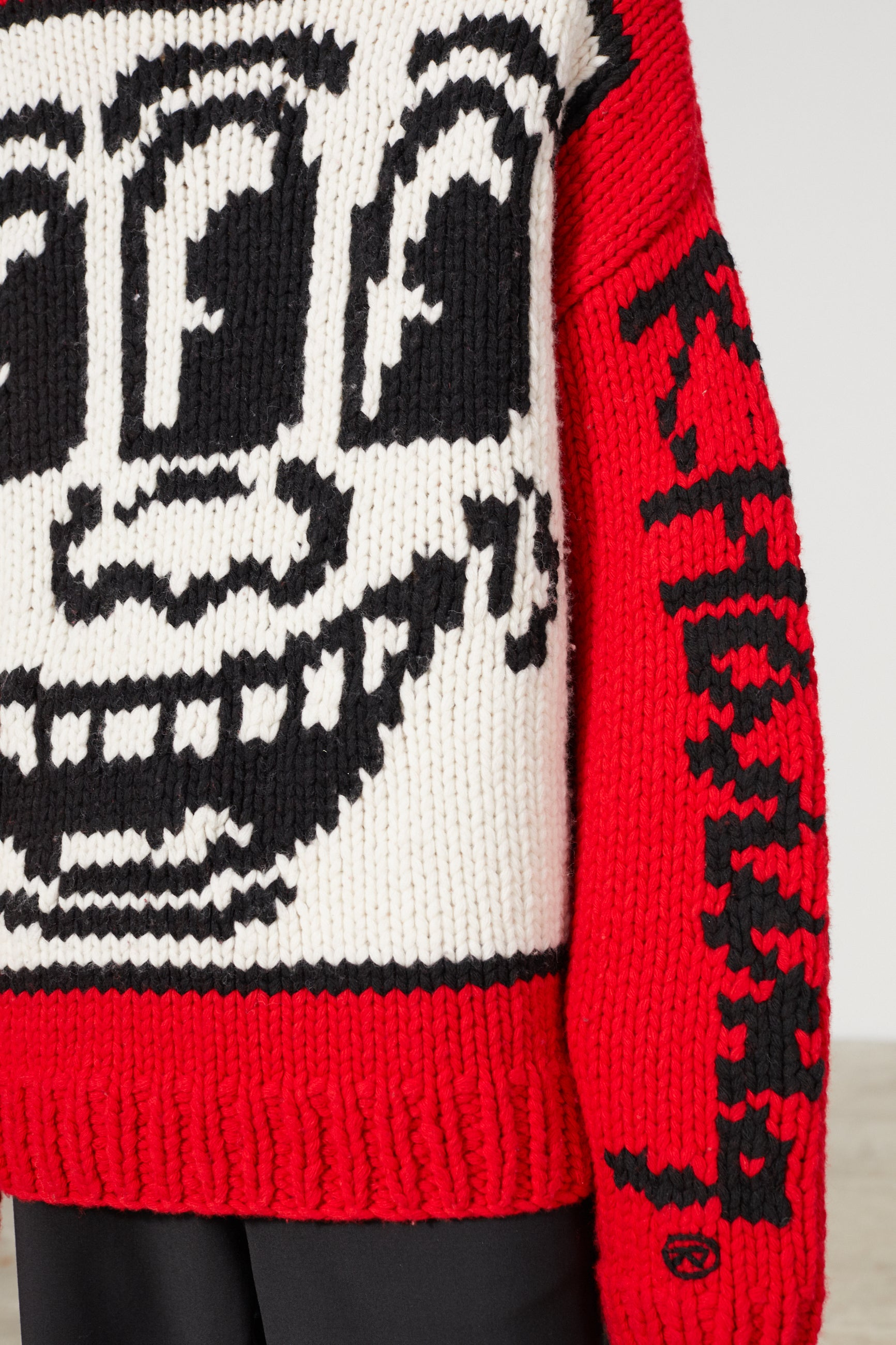 ANDY KEITH HARING KNIT SWEATER