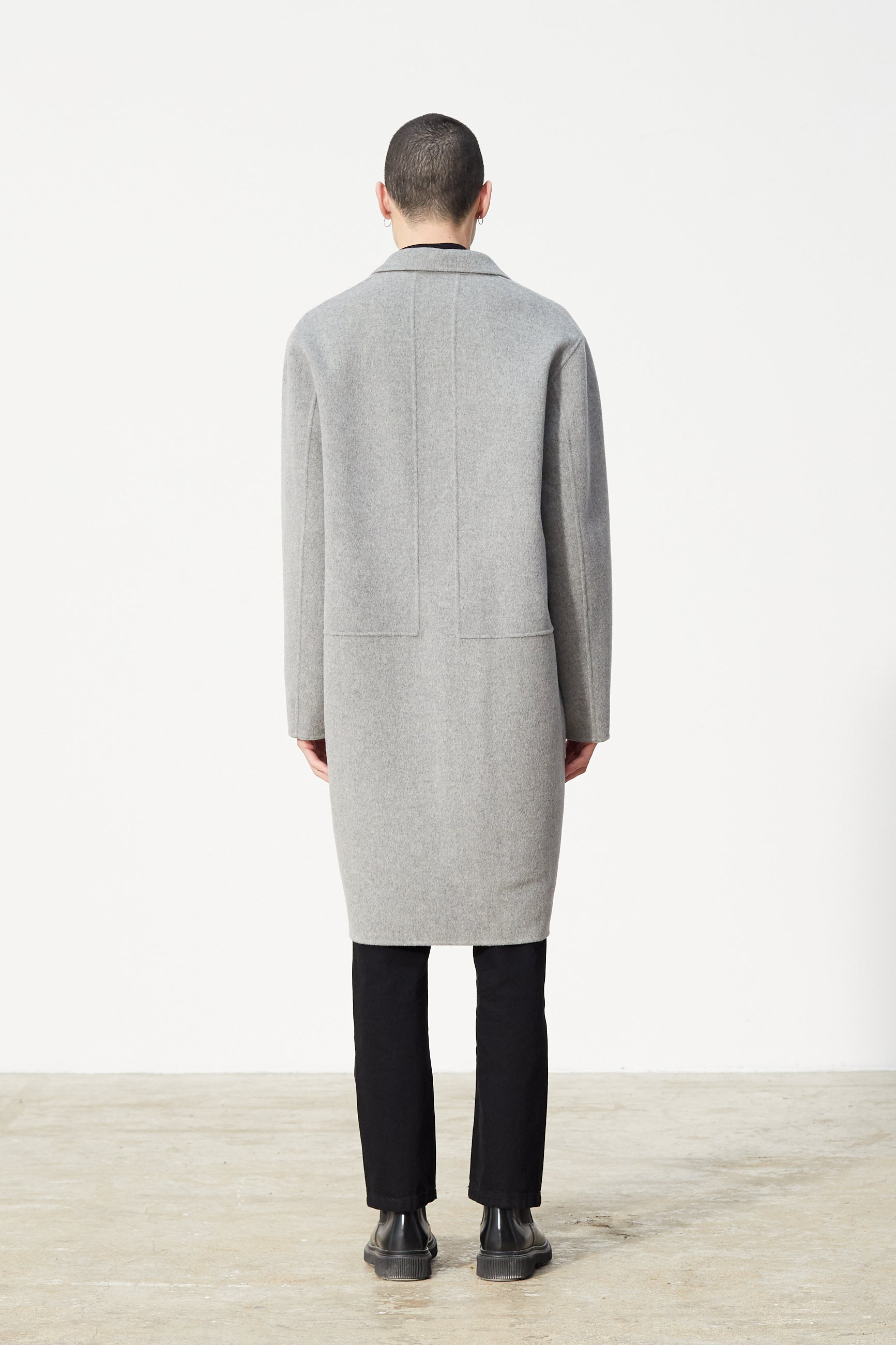Études Archeology Wool Grey Coat 2