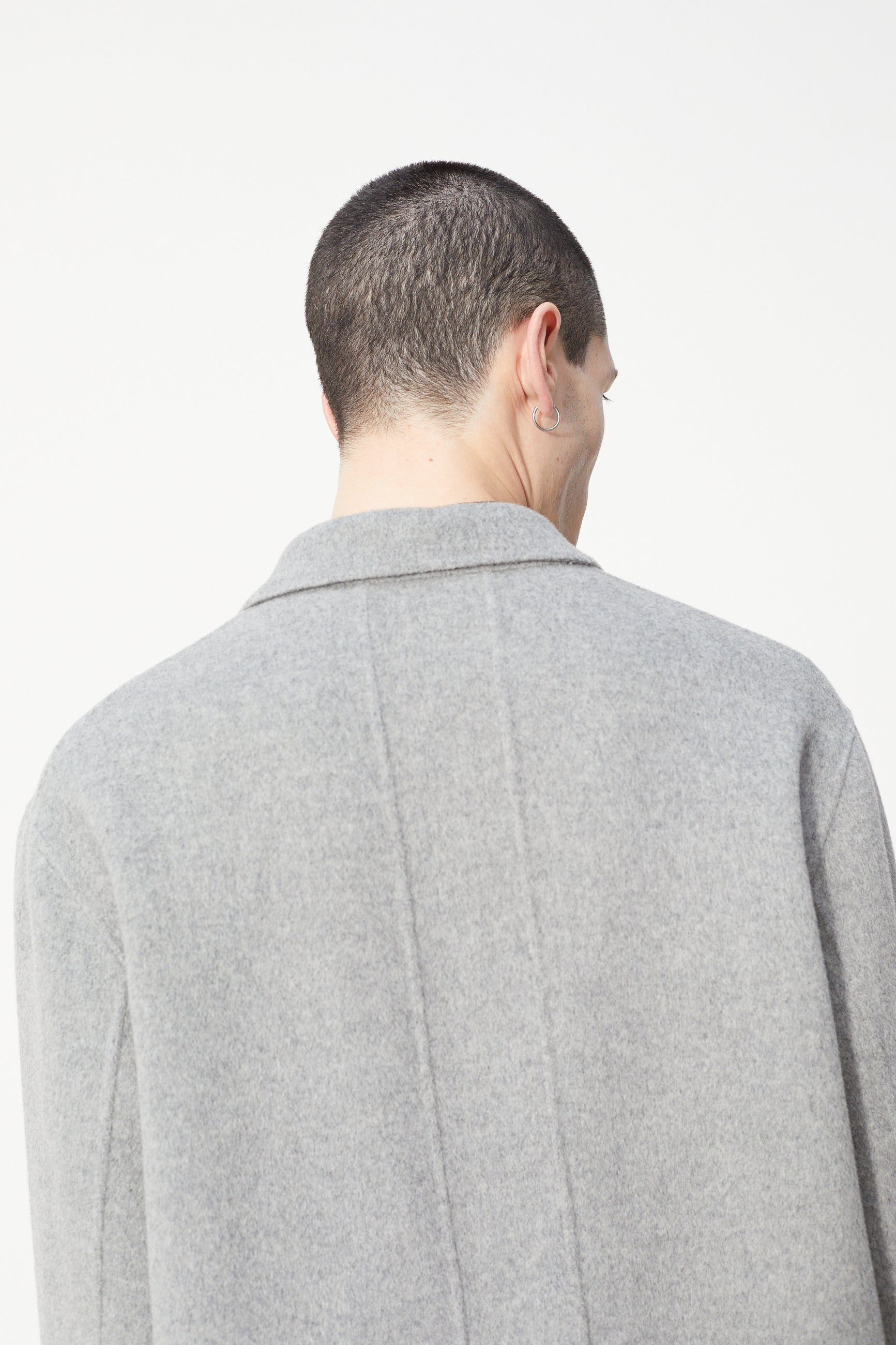 Études Archeology Wool Grey Coat 5