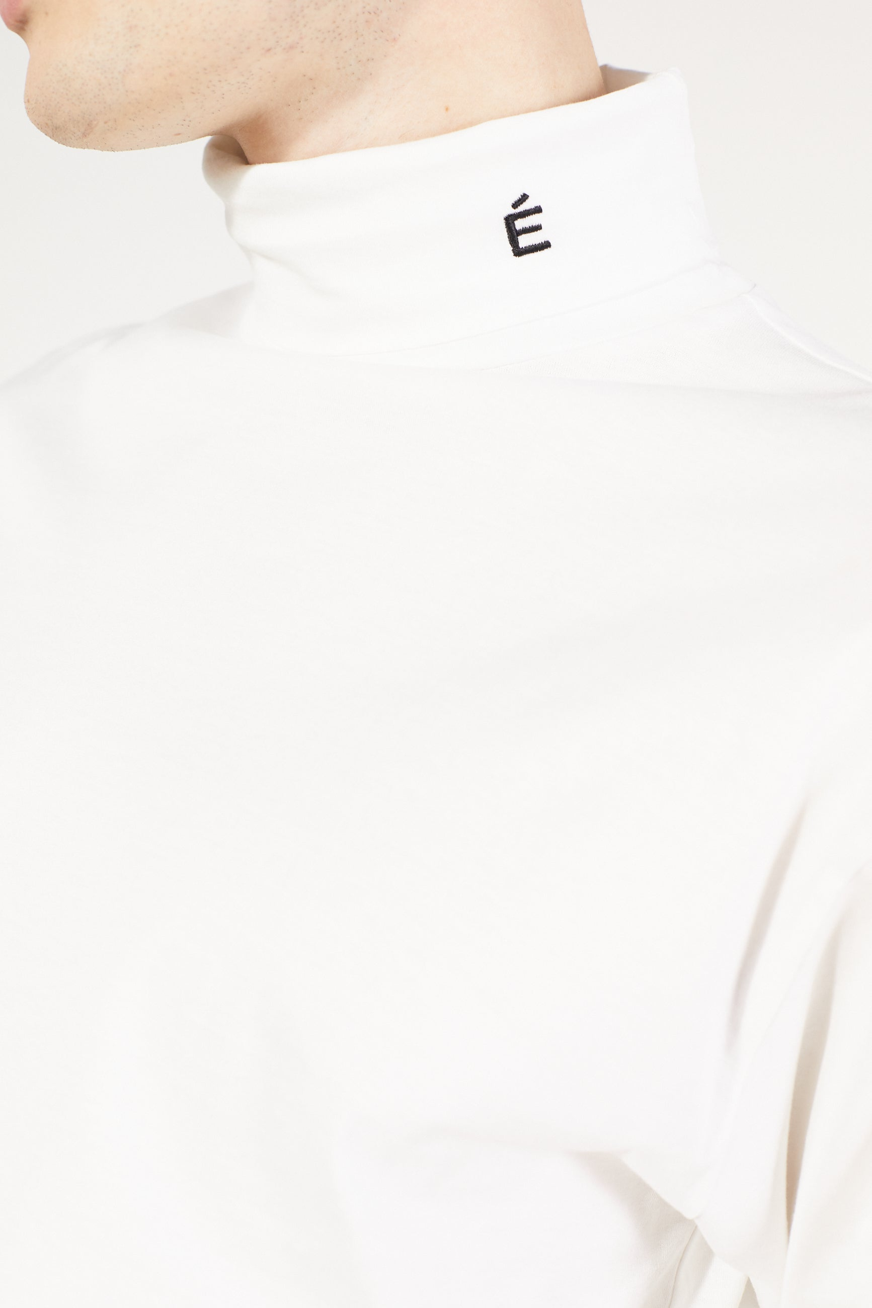 Études Award LS Small Accent White T-shirt 4
