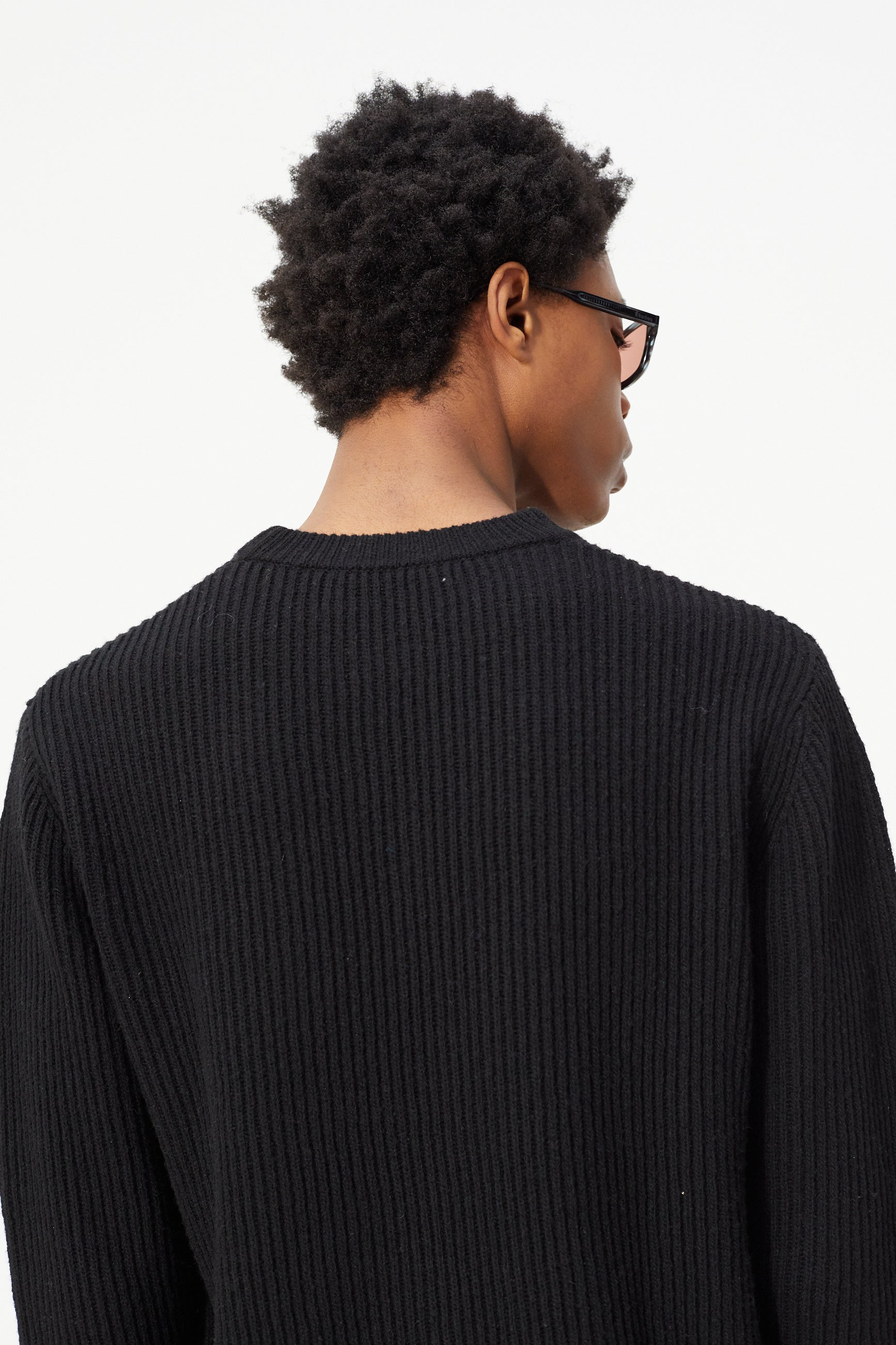 Études Boris Black Knit 6