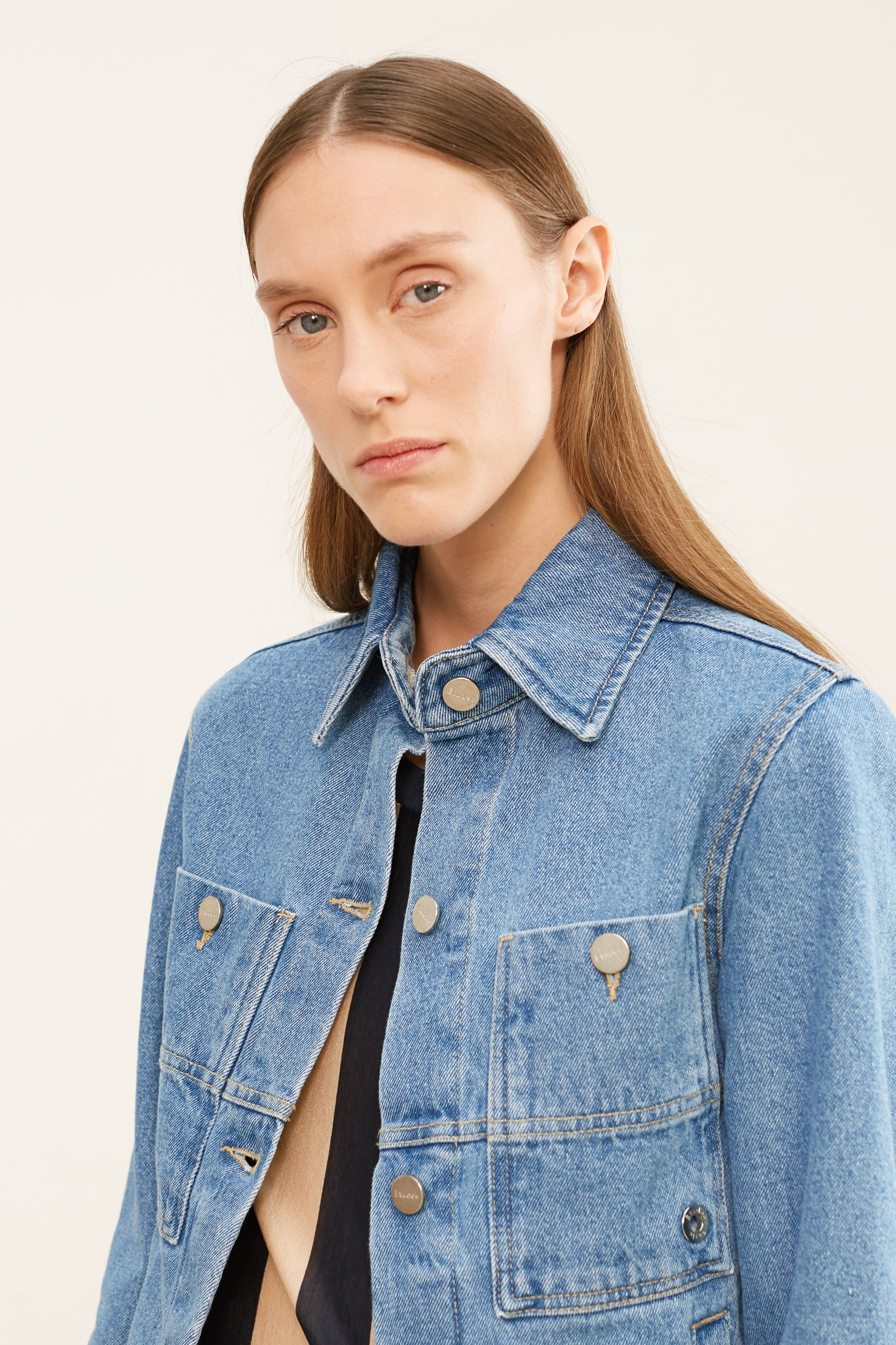 CELESTE DENIM JACKET