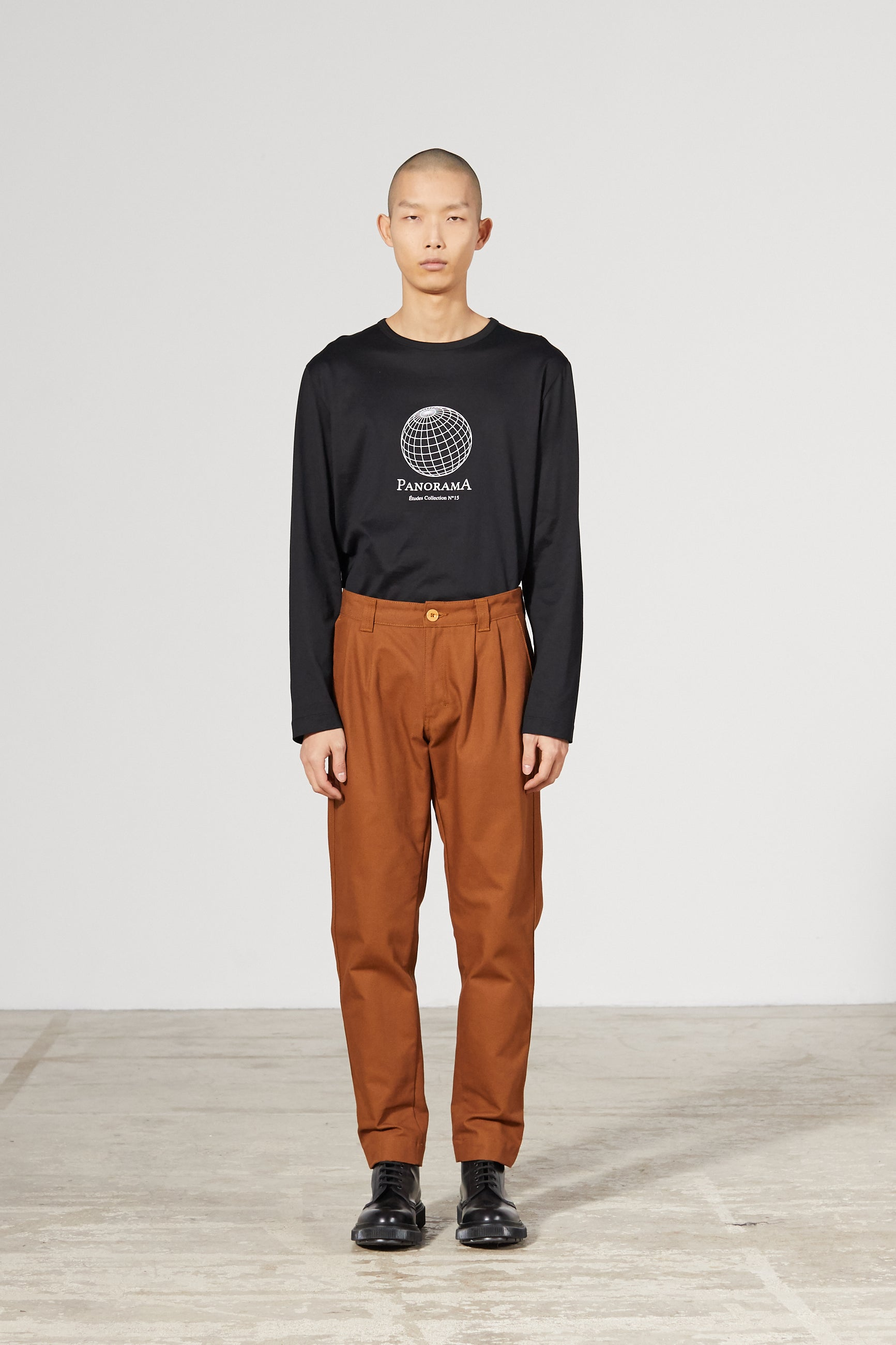 CINEMA CANVAS CAMEL TROUSERS