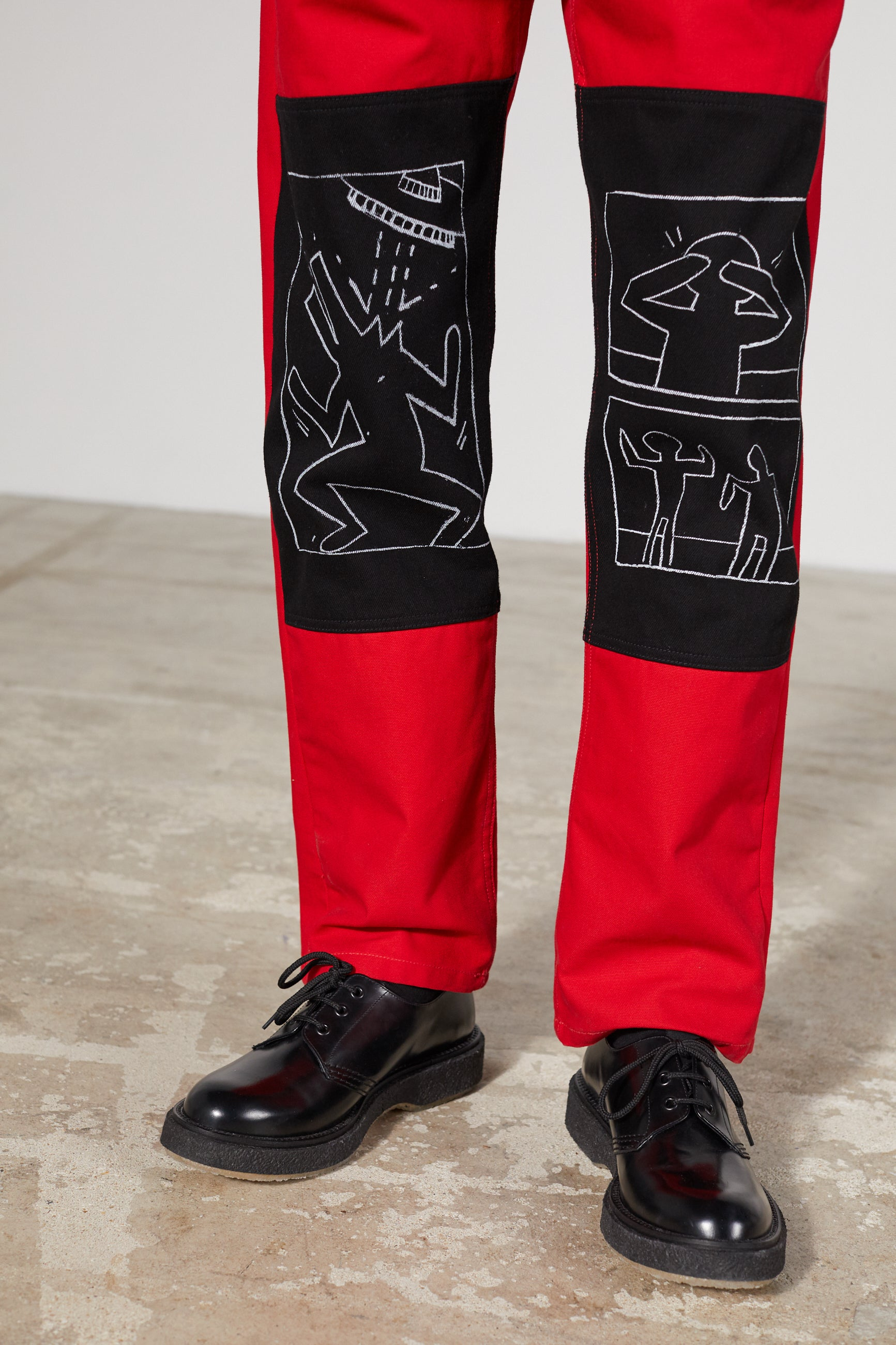 CORNER CANVAS KEITH HARING X MTA TROUSERS