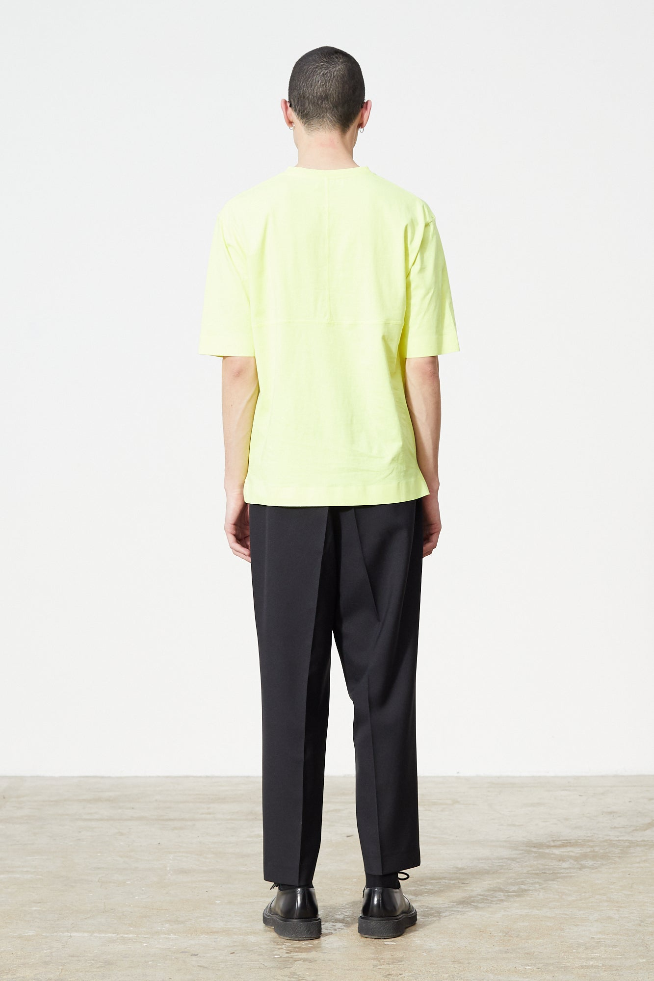 Études Cosmic Neon Yellow T-shirt 2