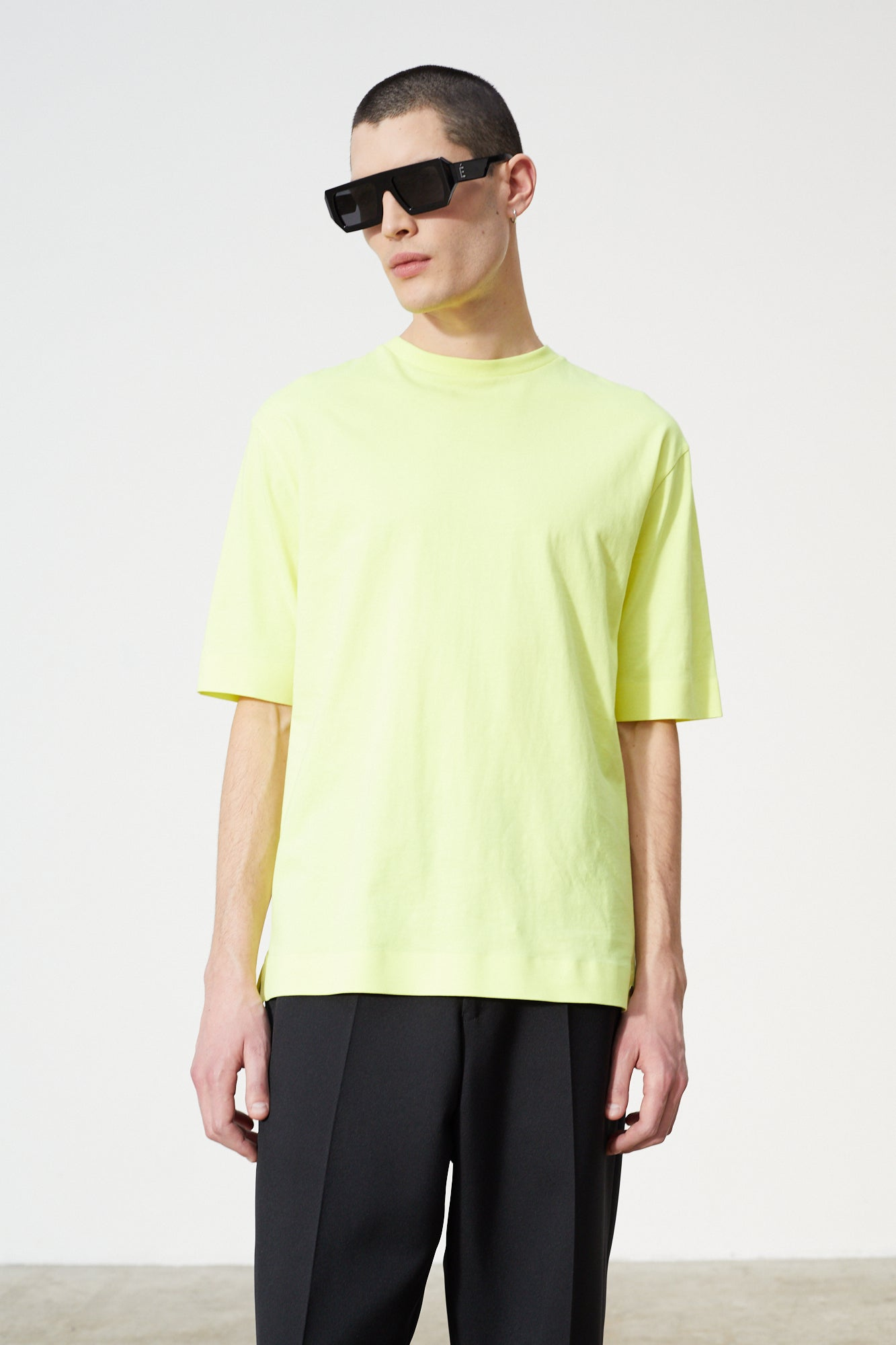 Études Cosmic Neon Yellow T-shirt 3