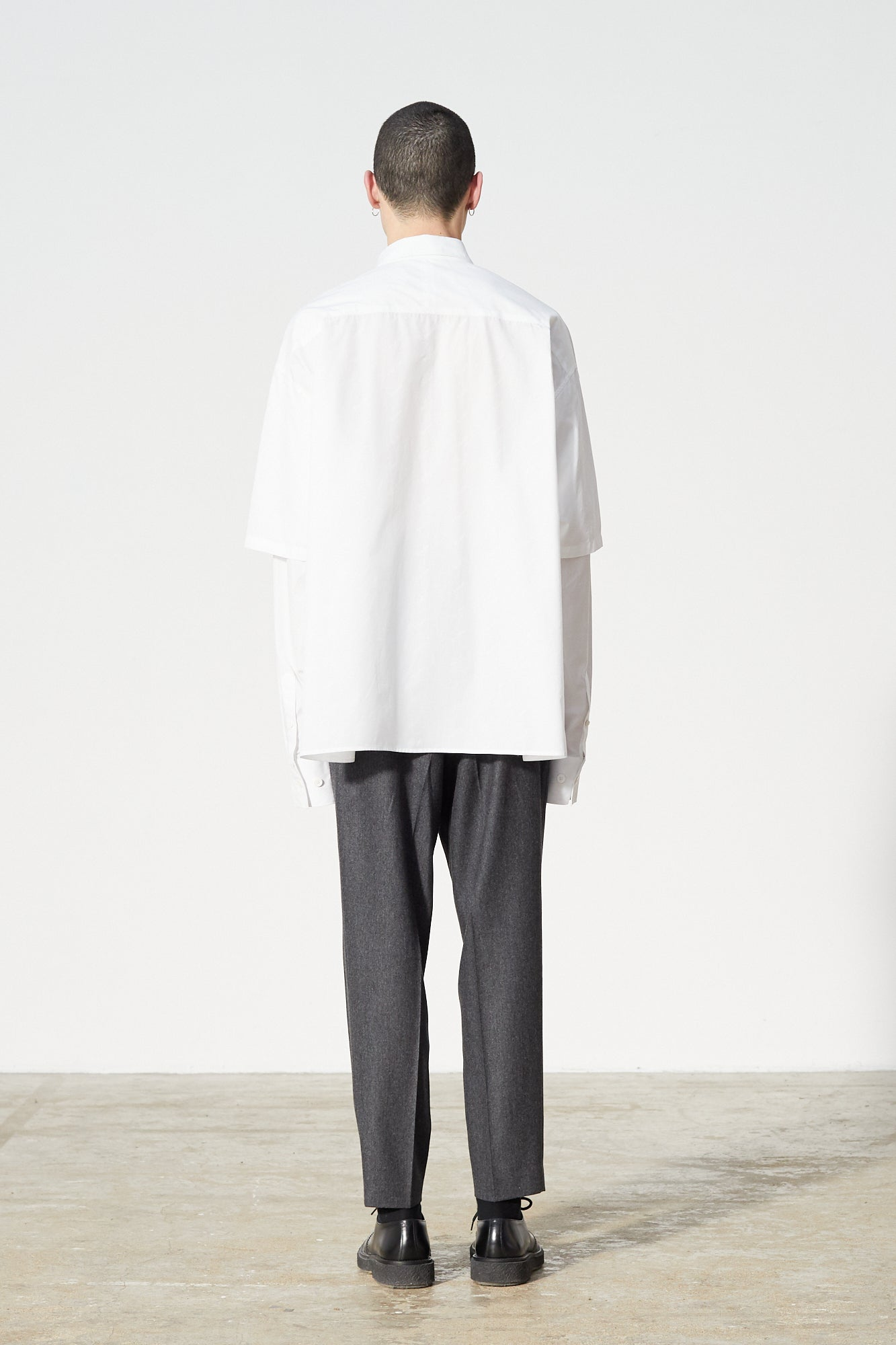 Études Iron Monogram White Shirt 2