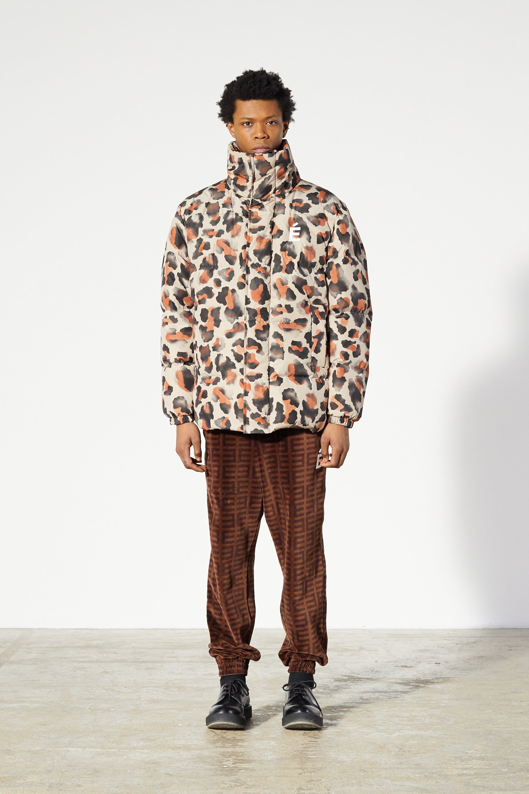 Études Joey Patch Leopard Jacket 1