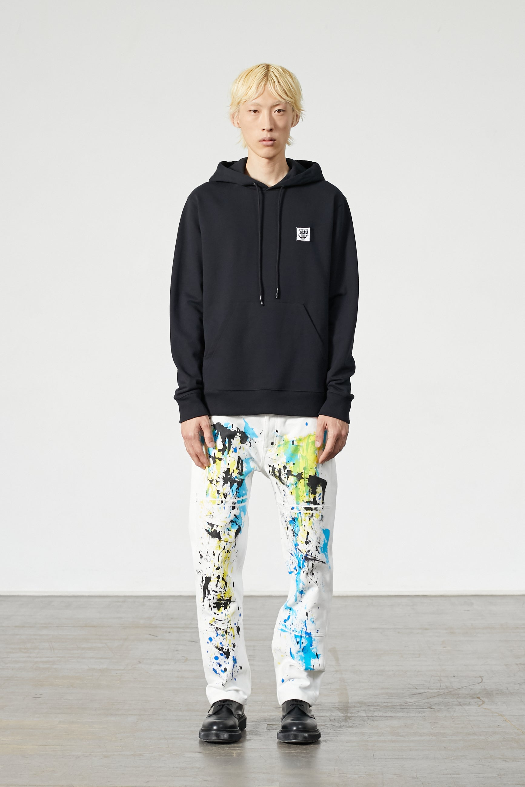 KLEIN PATCH KEITH HARING BLACK