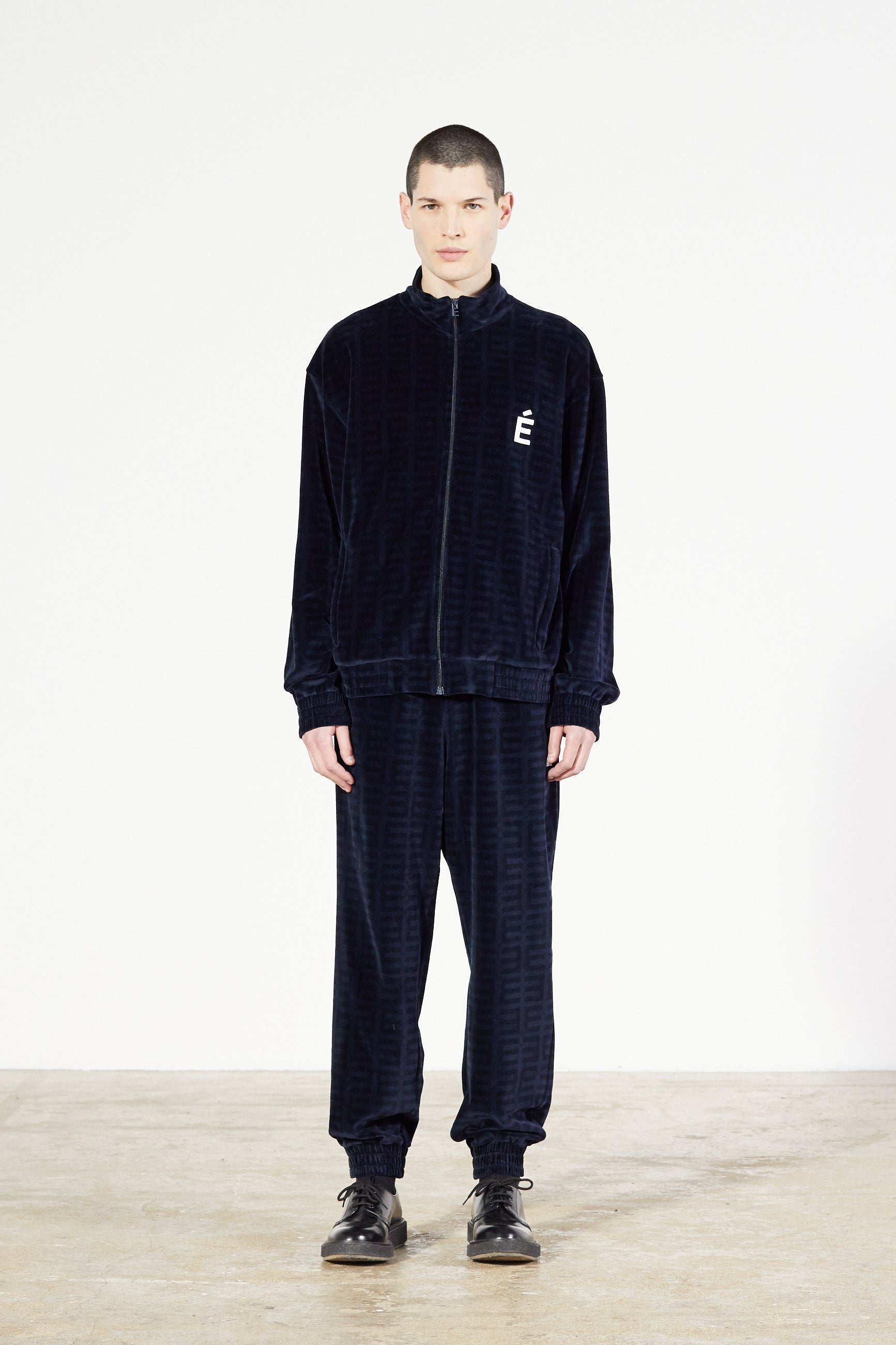 Études Major Tracksuit Velvet Navy Jacket 1