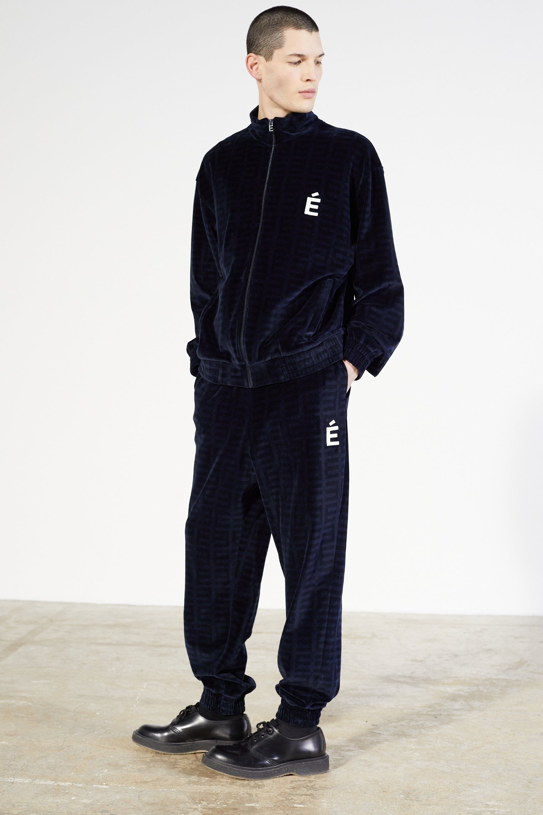 Études Major Tracksuit Velvet Navy Jacket 3