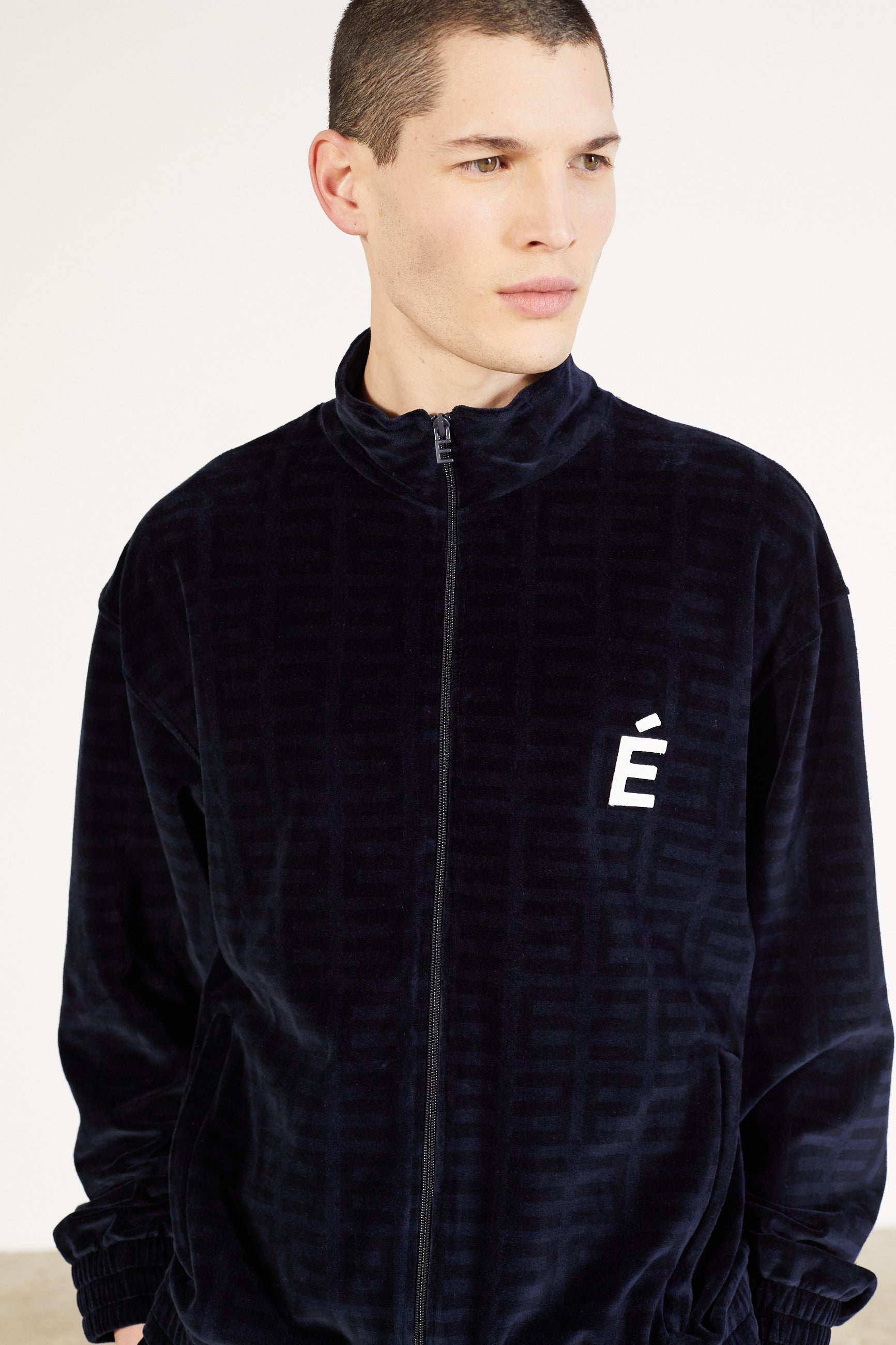 Études Major Tracksuit Velvet Navy Jacket 4