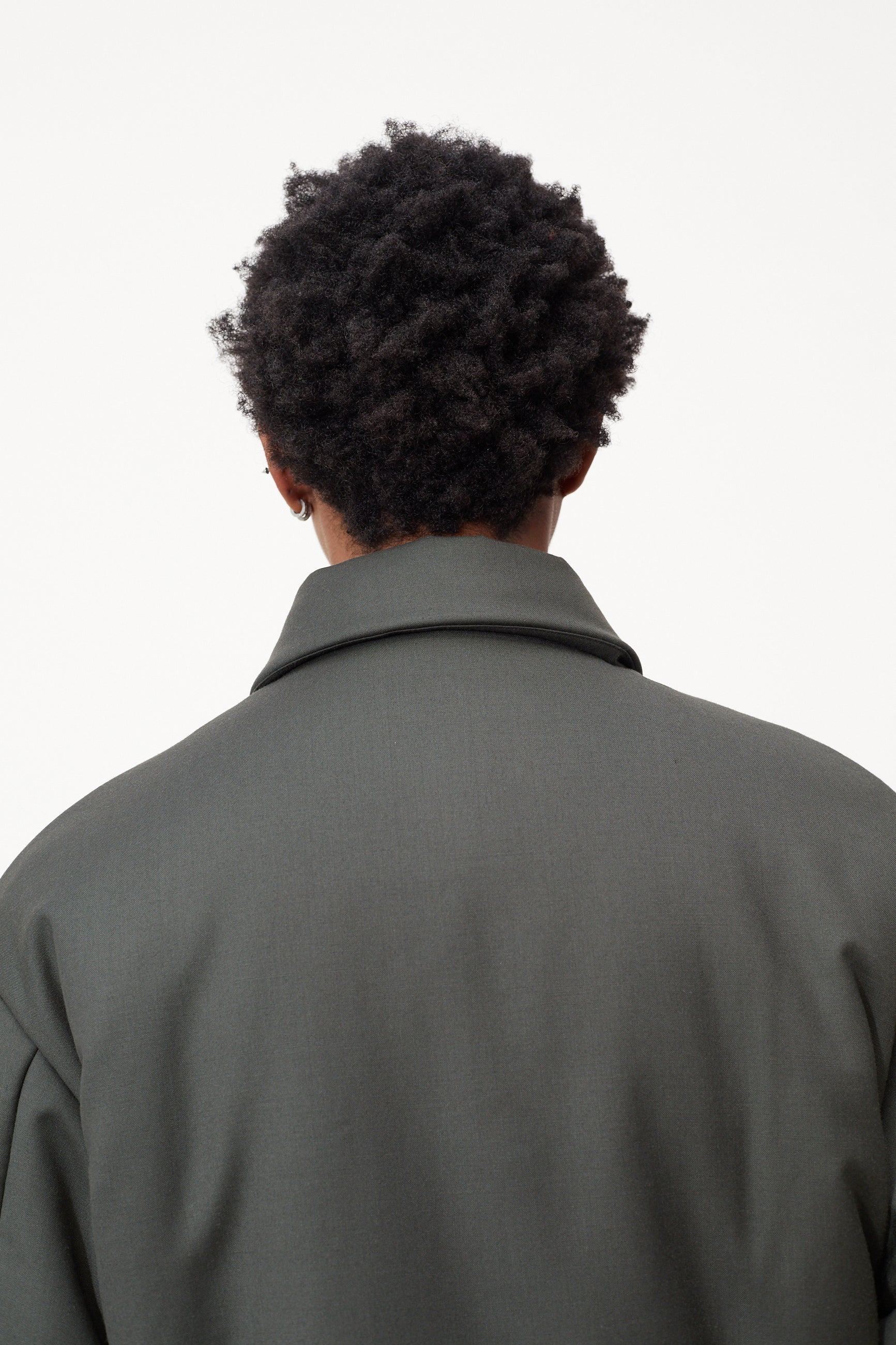 Études Orion Padded Army Green Jacket 6